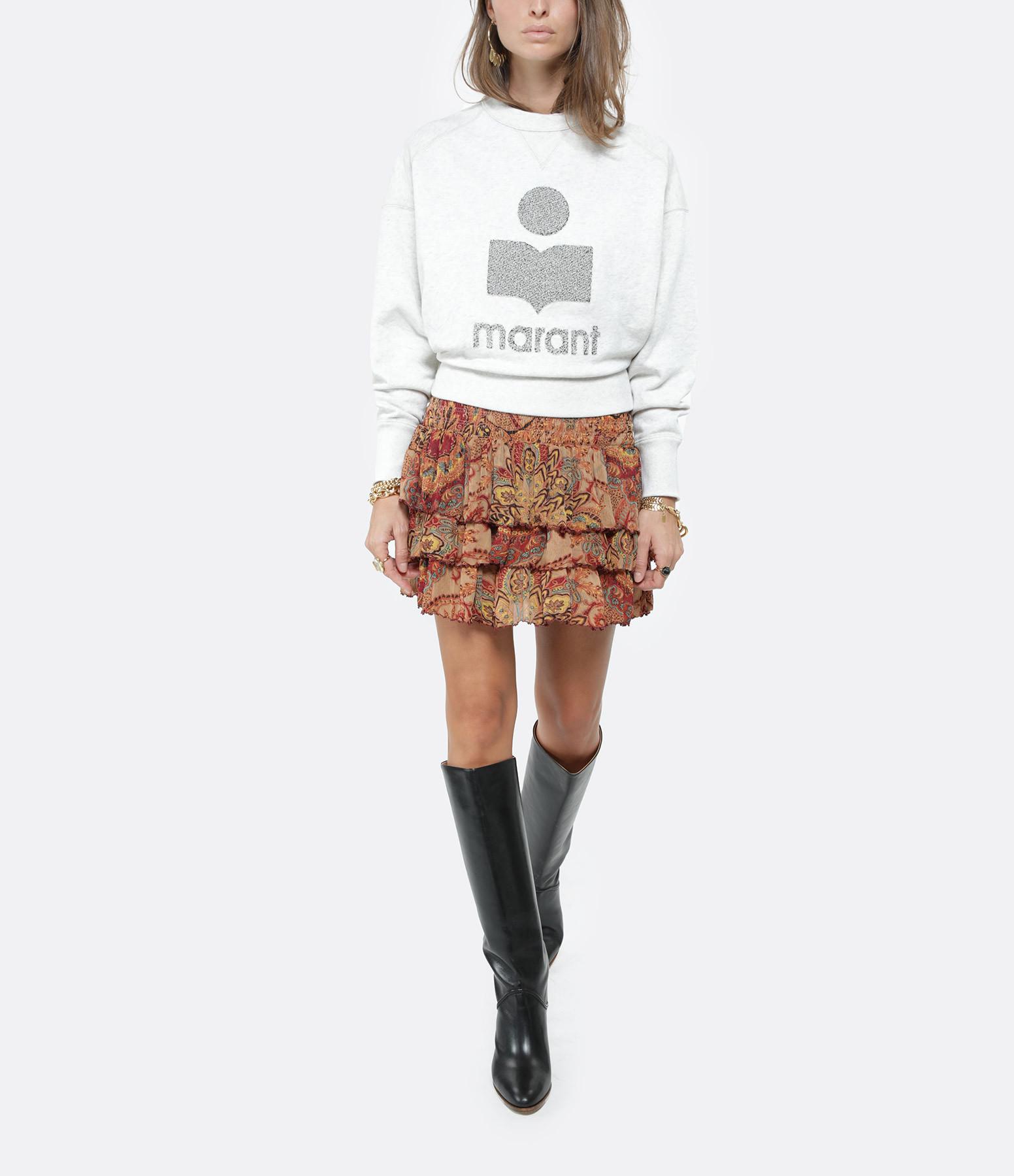 ISABEL MARANT ÉTOILE - Sweatshirt Teloya Coton Écru