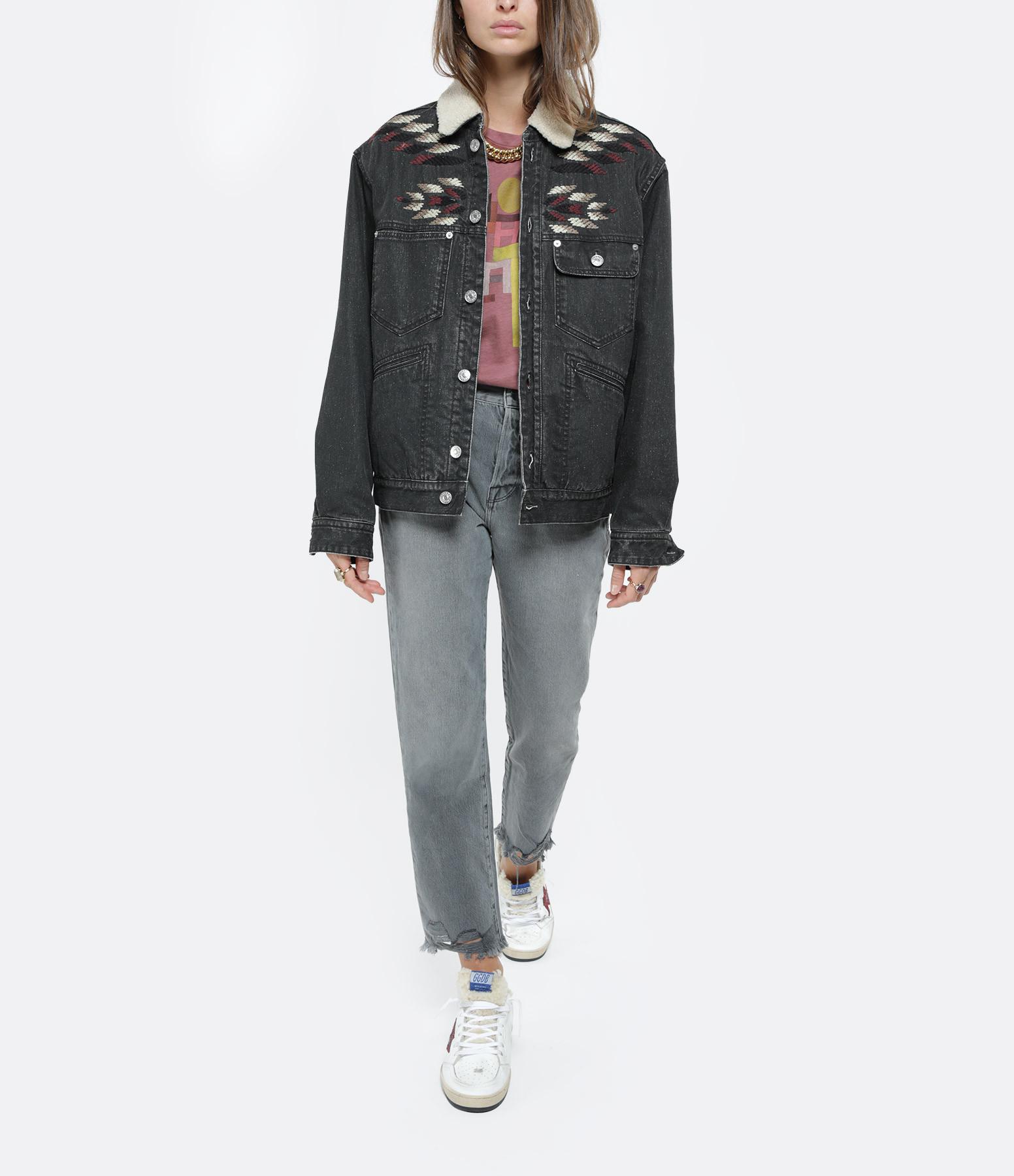 ISABEL MARANT ÉTOILE - Tee-shirt Zewel Coton Rose