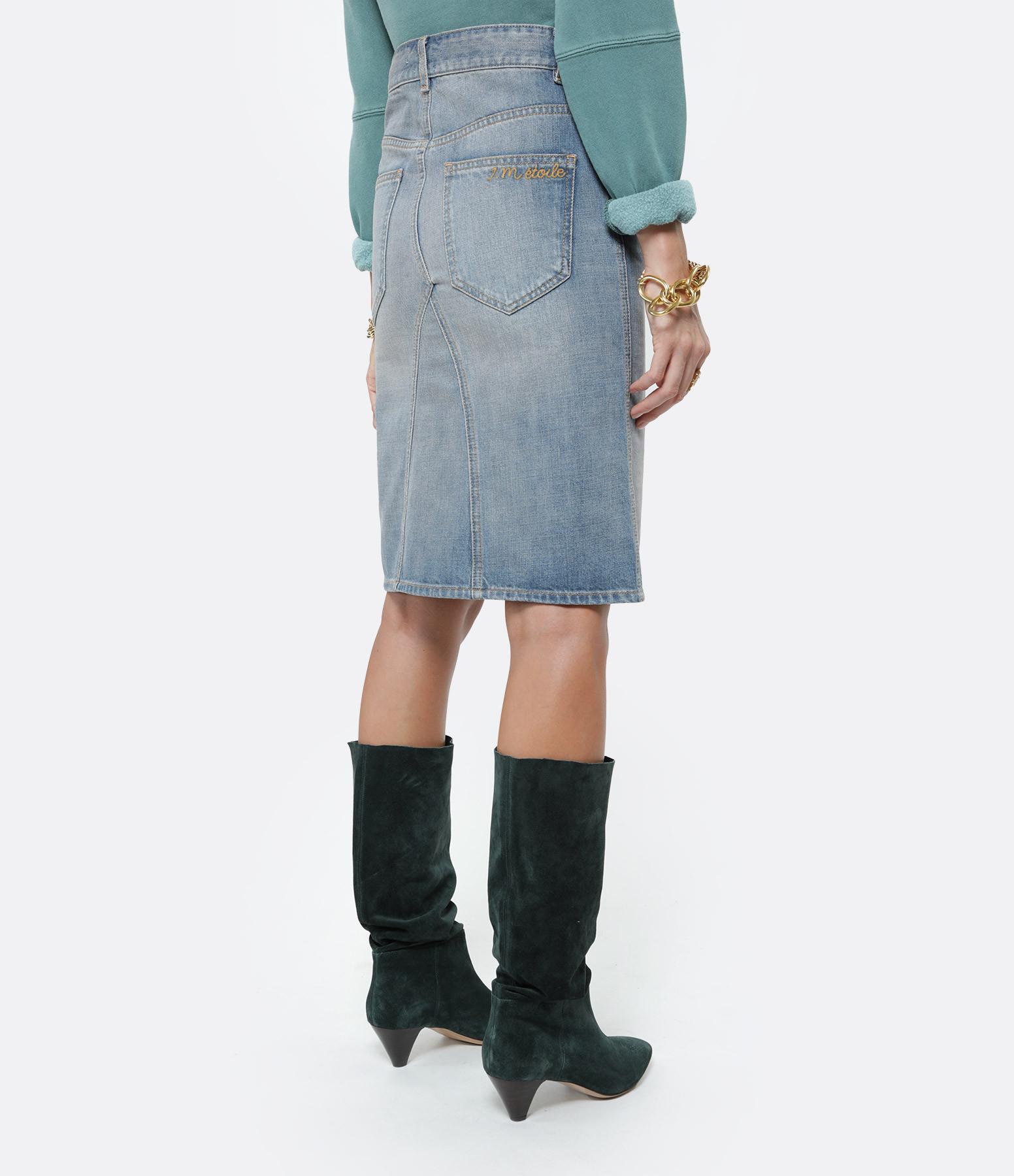 ISABEL MARANT ÉTOILE - Jupe Fiali Bleu