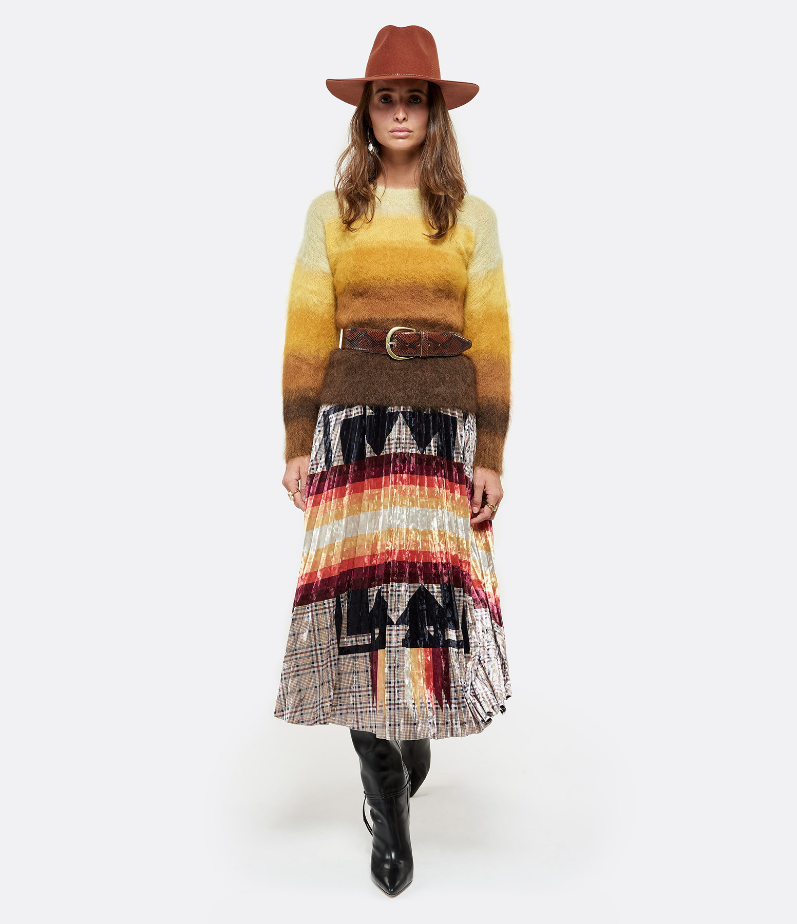 ISABEL MARANT ÉTOILE - Pull Drussell Mohair Ocre