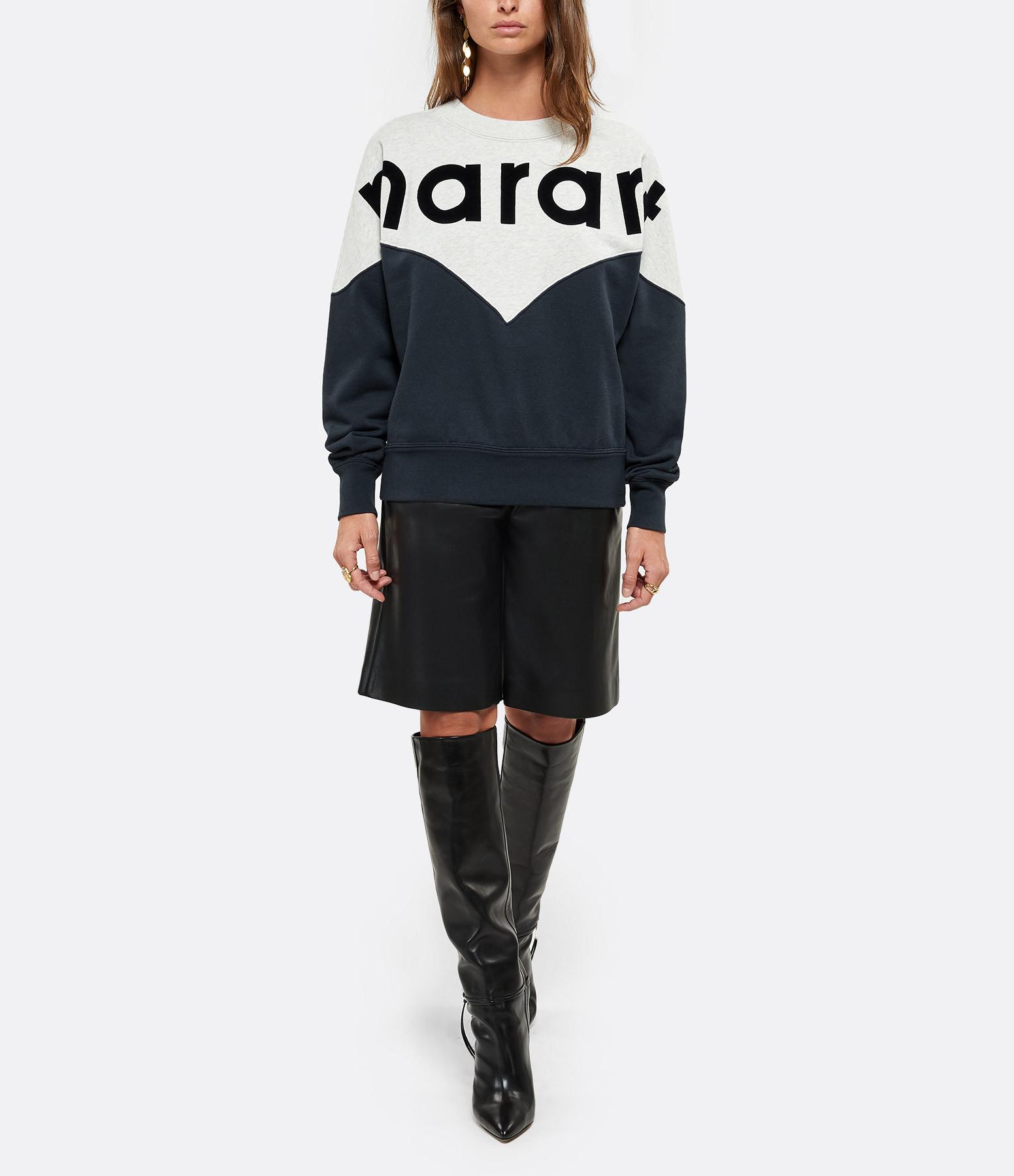 ISABEL MARANT ÉTOILE - Sweatshirt Houston Coton Noir