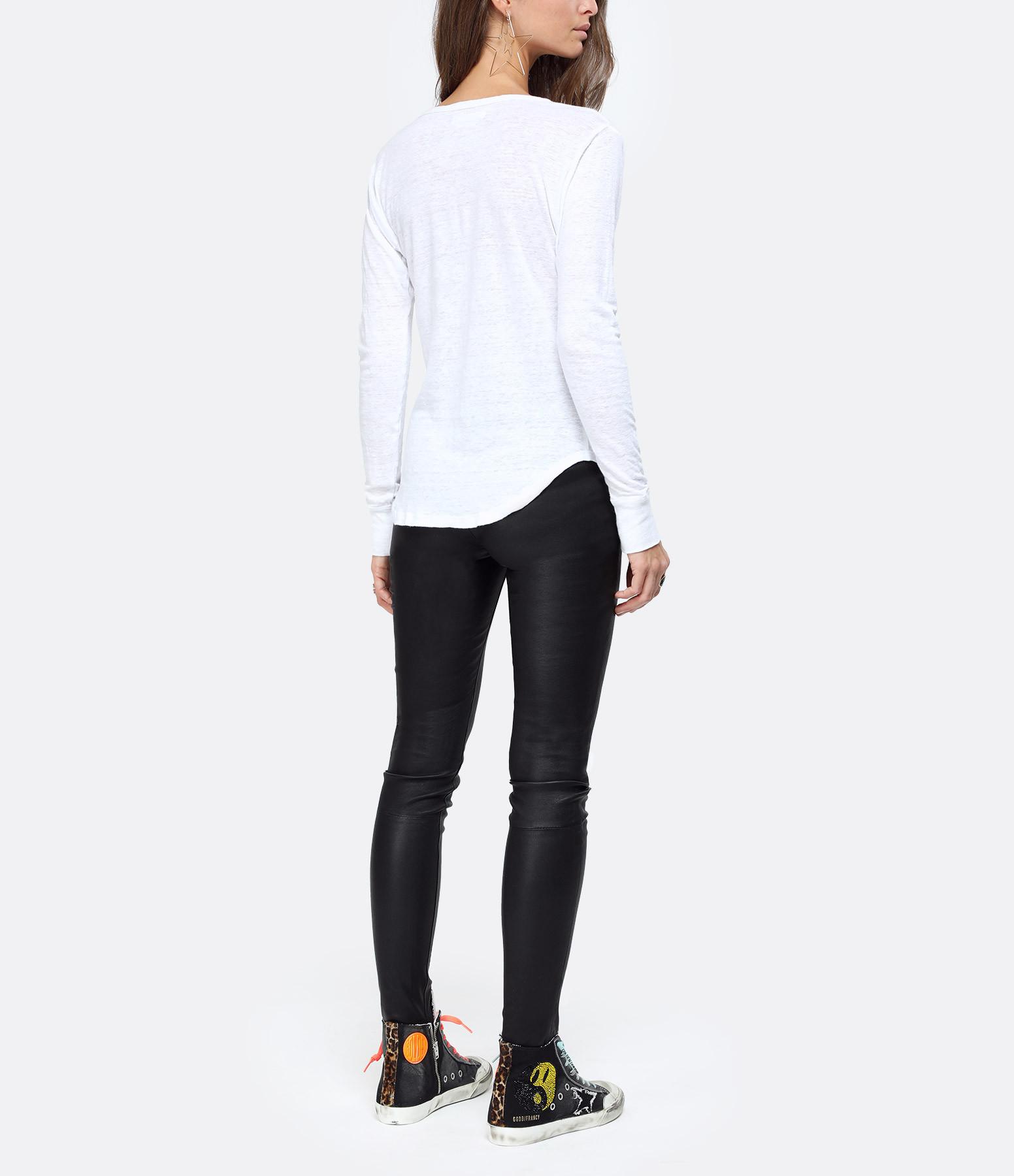ISABEL MARANT ÉTOILE - Tee-shirt Grifin Lin Blanc