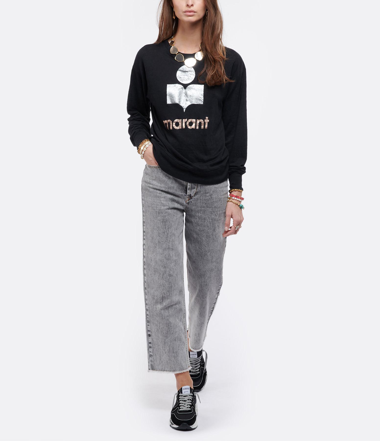ISABEL MARANT ÉTOILE - Tee-shirt Klowia Lin Noir