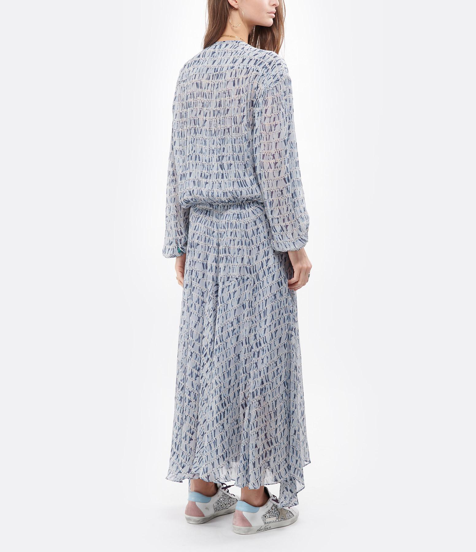 ISABEL MARANT ÉTOILE - Robe Saureli Imprimé Bleu