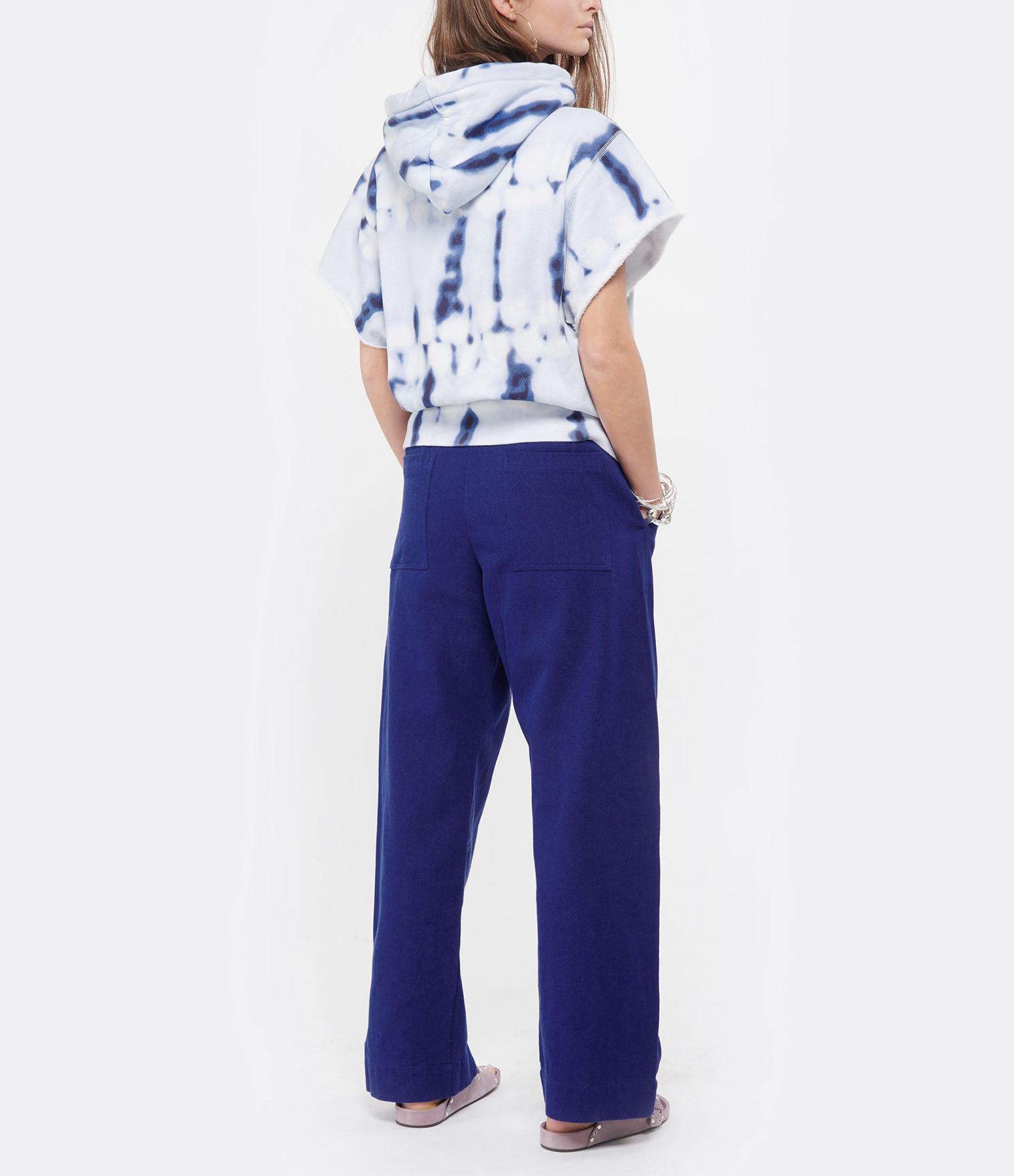 ISABEL MARANT ÉTOILE - Sweatshirt Milesy Coton Bleu
