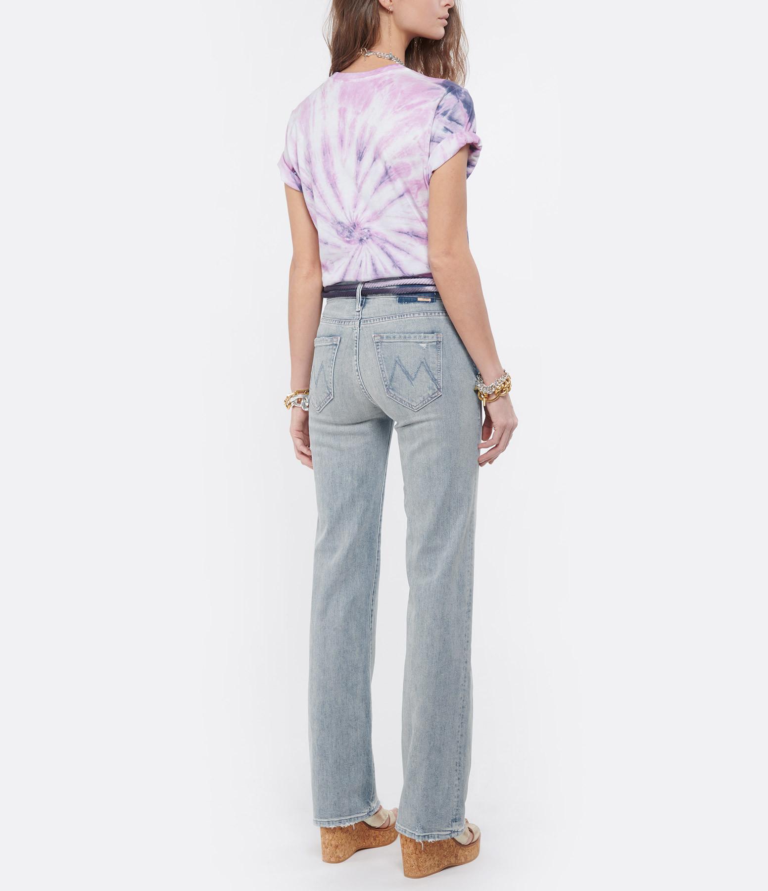 ISABEL MARANT ÉTOILE - Tee-shirt Zewel Coton Tie and Dye Violet