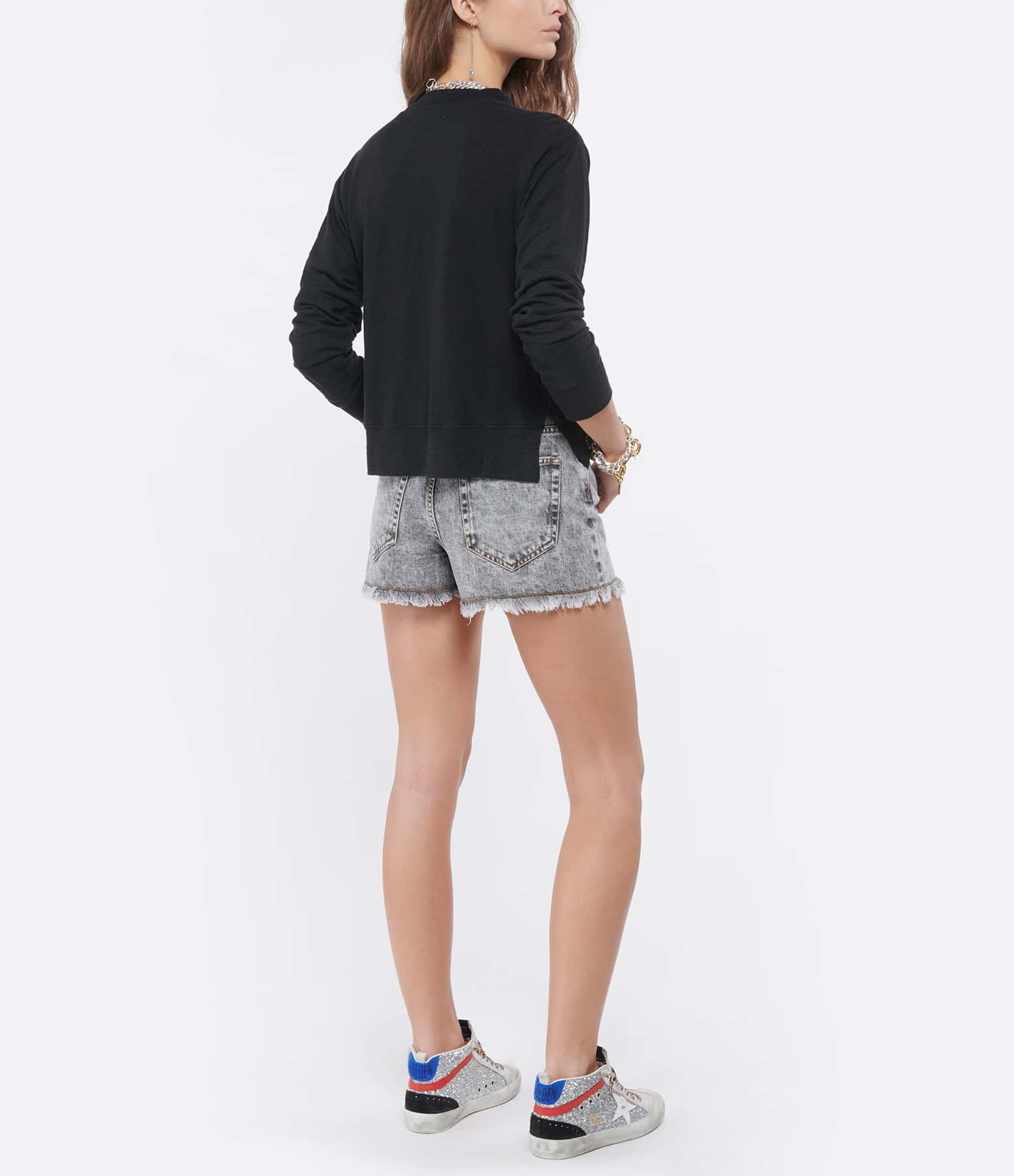 ISABEL MARANT ÉTOILE - Tee-shirt Kilsen Lin Noir