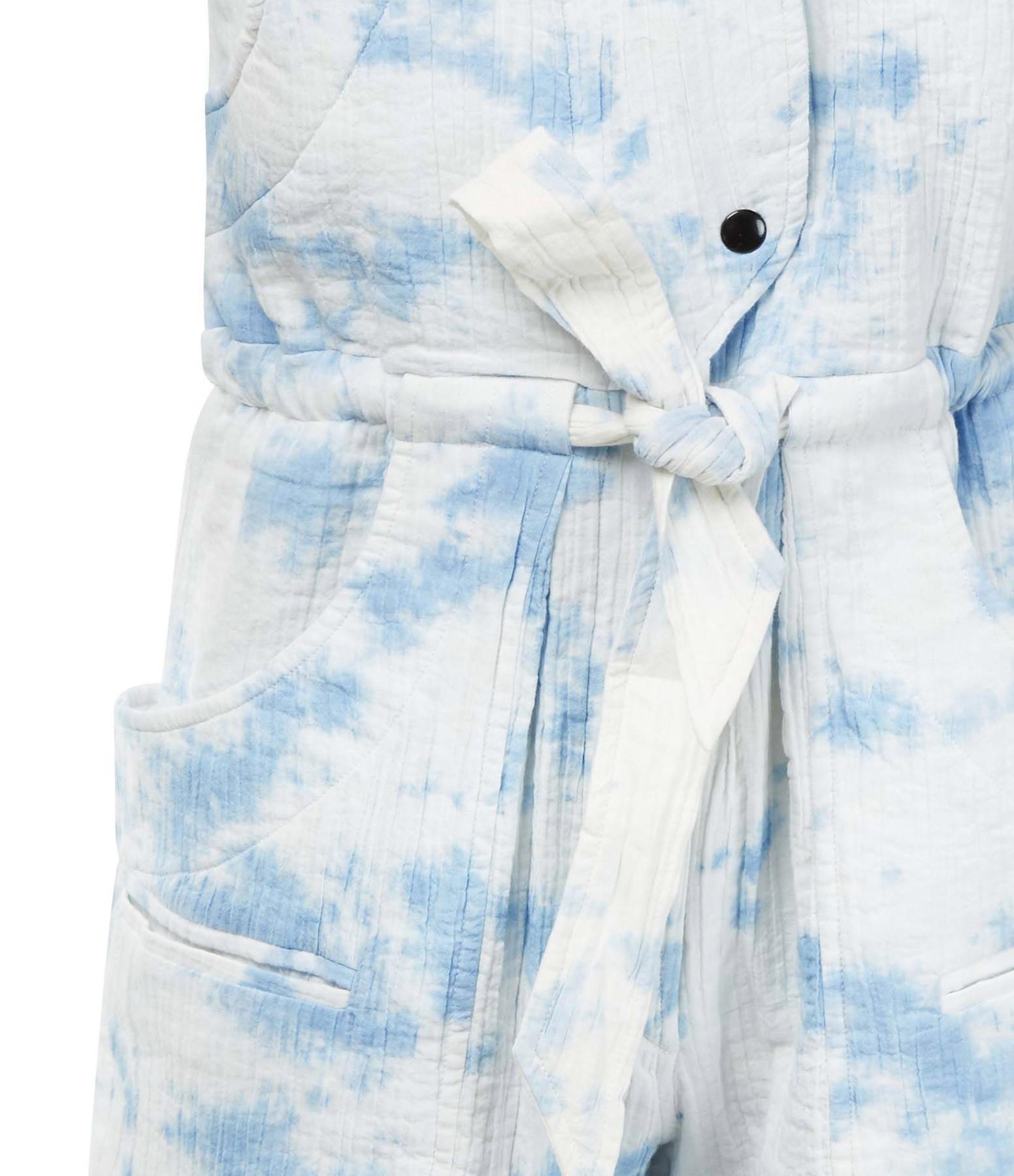 ISABEL MARANT ÉTOILE - Combinaison Blithe Coton Bleu Clair
