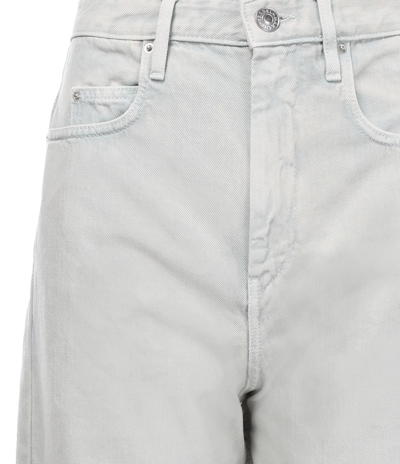 ISABEL MARANT ÉTOILE - Pantalon Corsy Coton Amande