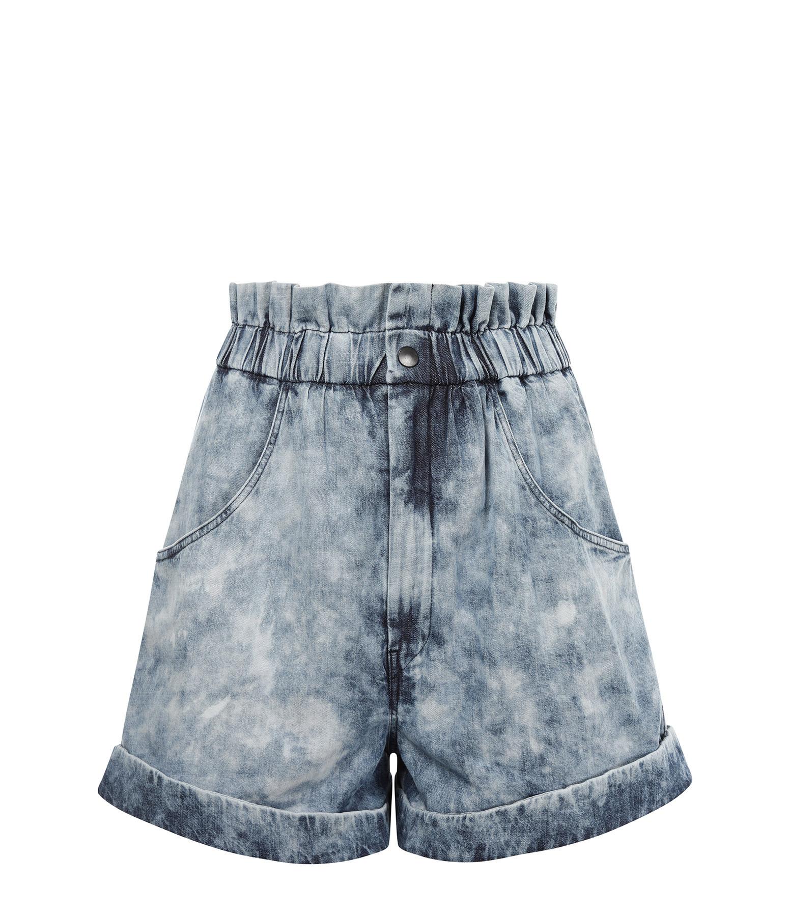 ISABEL MARANT ÉTOILE - Short Itea Coton Bleu
