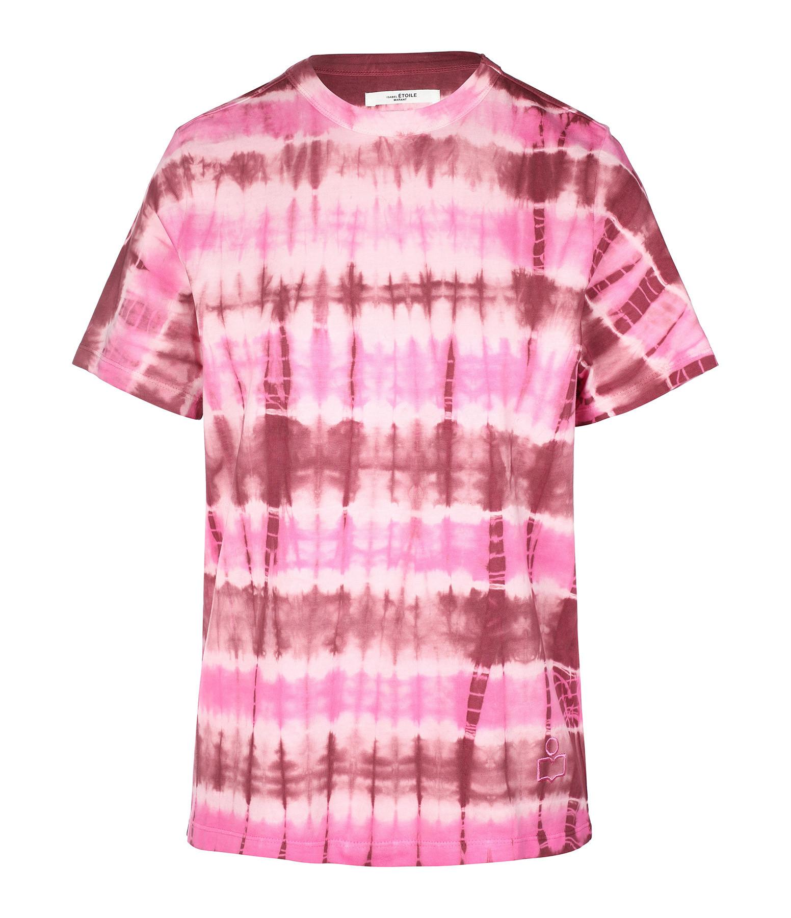 ISABEL MARANT ÉTOILE - Tee-shirt Dena Coton Bordeaux
