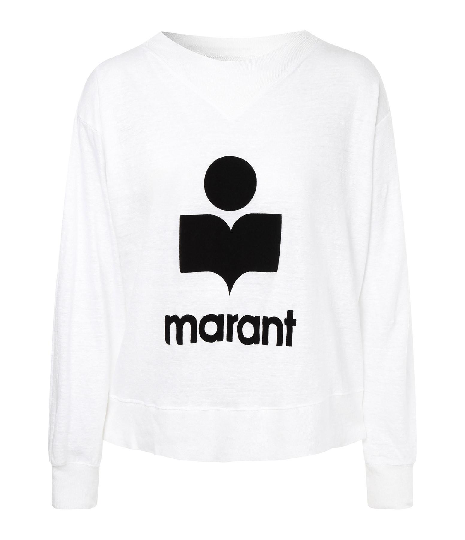 ISABEL MARANT ÉTOILE - Tee-shirt Kilsen Lin Blanc