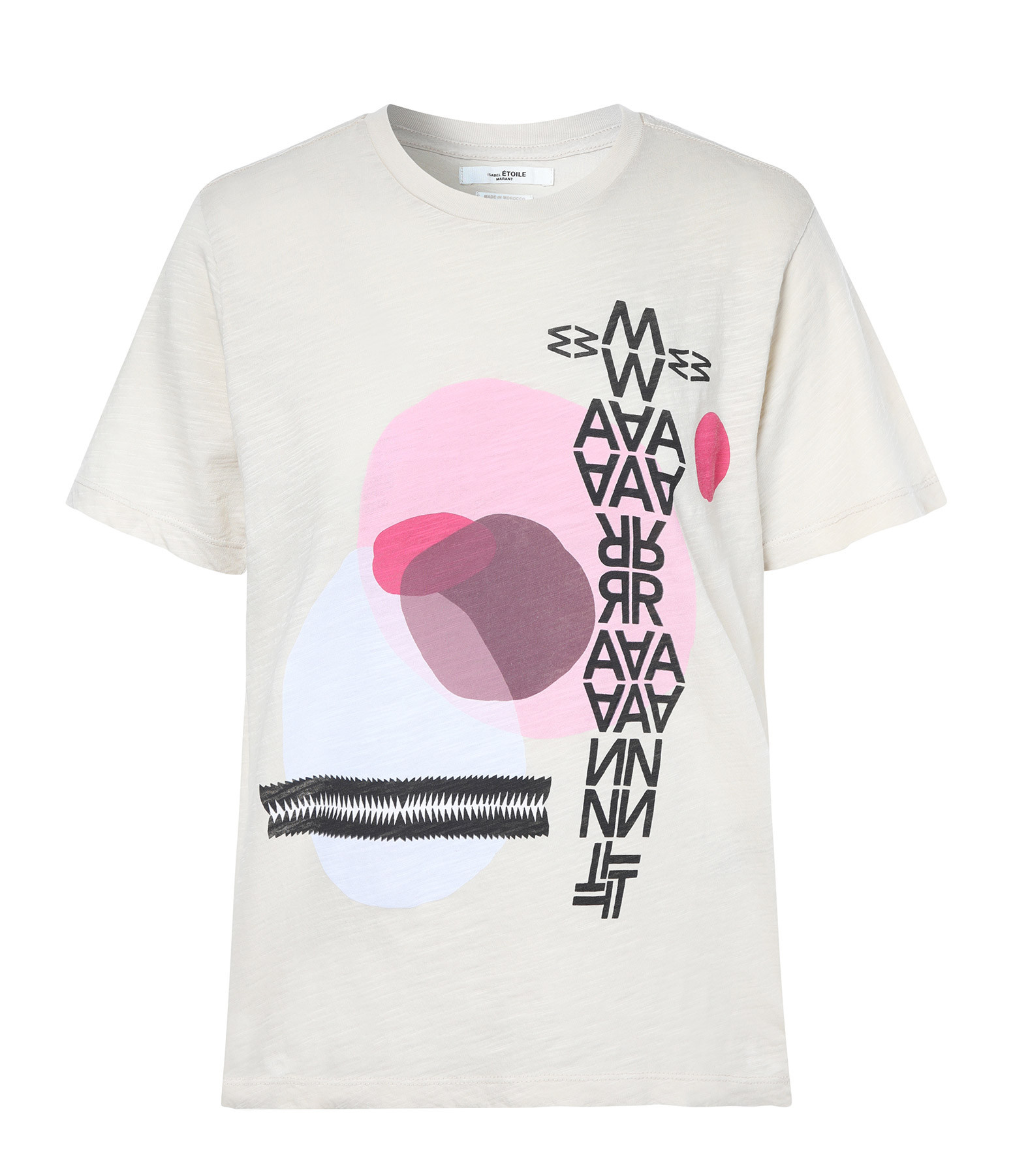 ISABEL MARANT ÉTOILE - Tee-shirt Pewela Coton Ecru