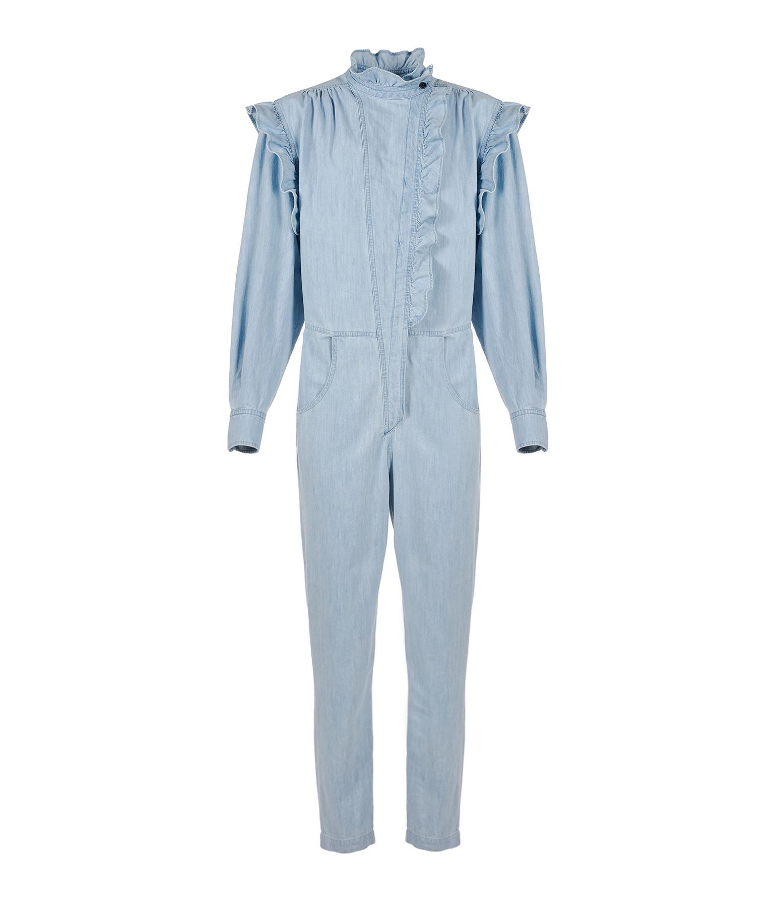 ISABEL MARANT ÉTOILE - Combinaison Gayle Coton Bleu Clair