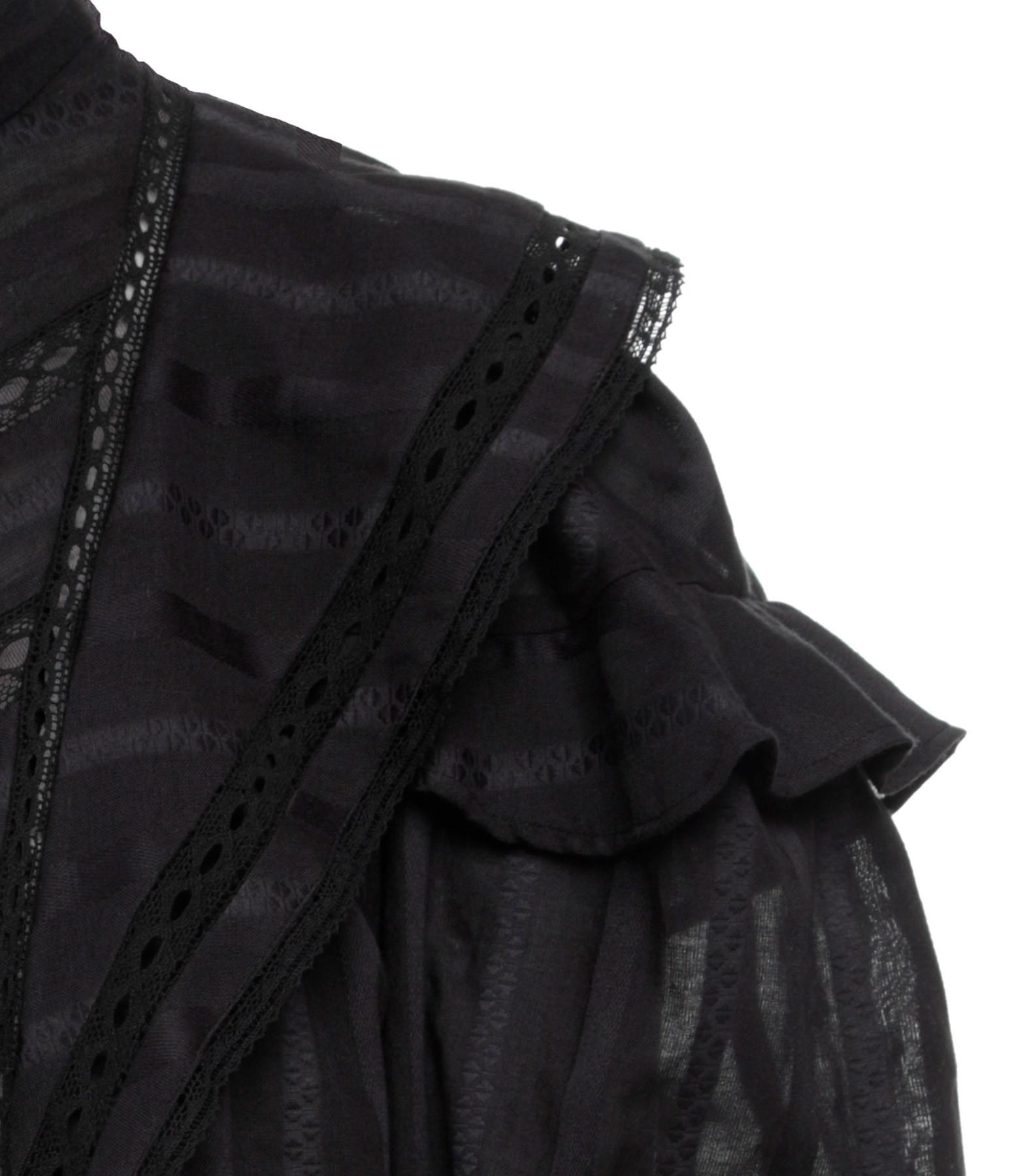 ISABEL MARANT ÉTOILE - Top Reign Coton Noir