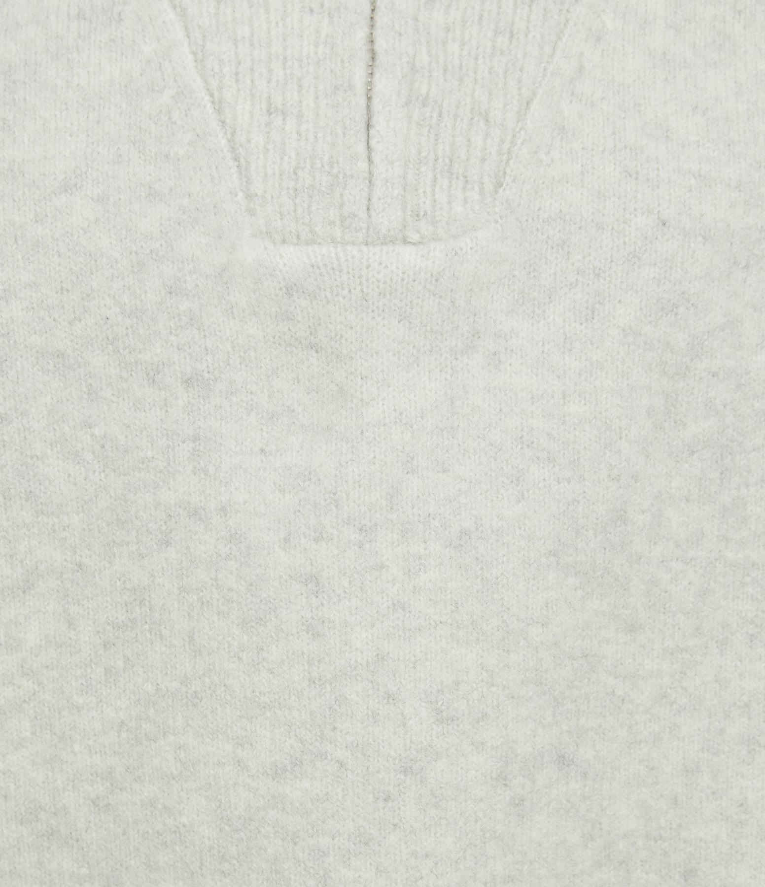 ISABEL MARANT ÉTOILE - Pull Fancy Coton Gris Clair