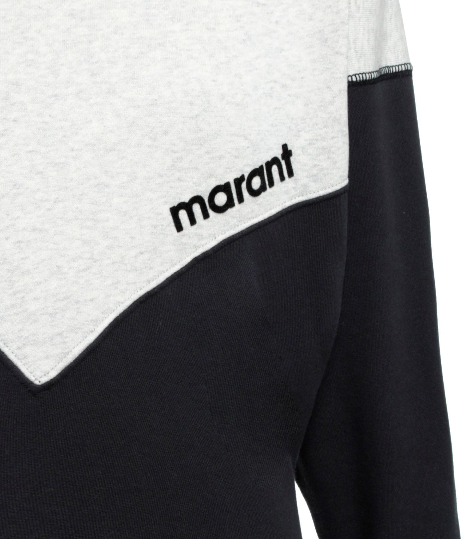 ISABEL MARANT ÉTOILE - Robe Heloyae Coton Noir Délavé
