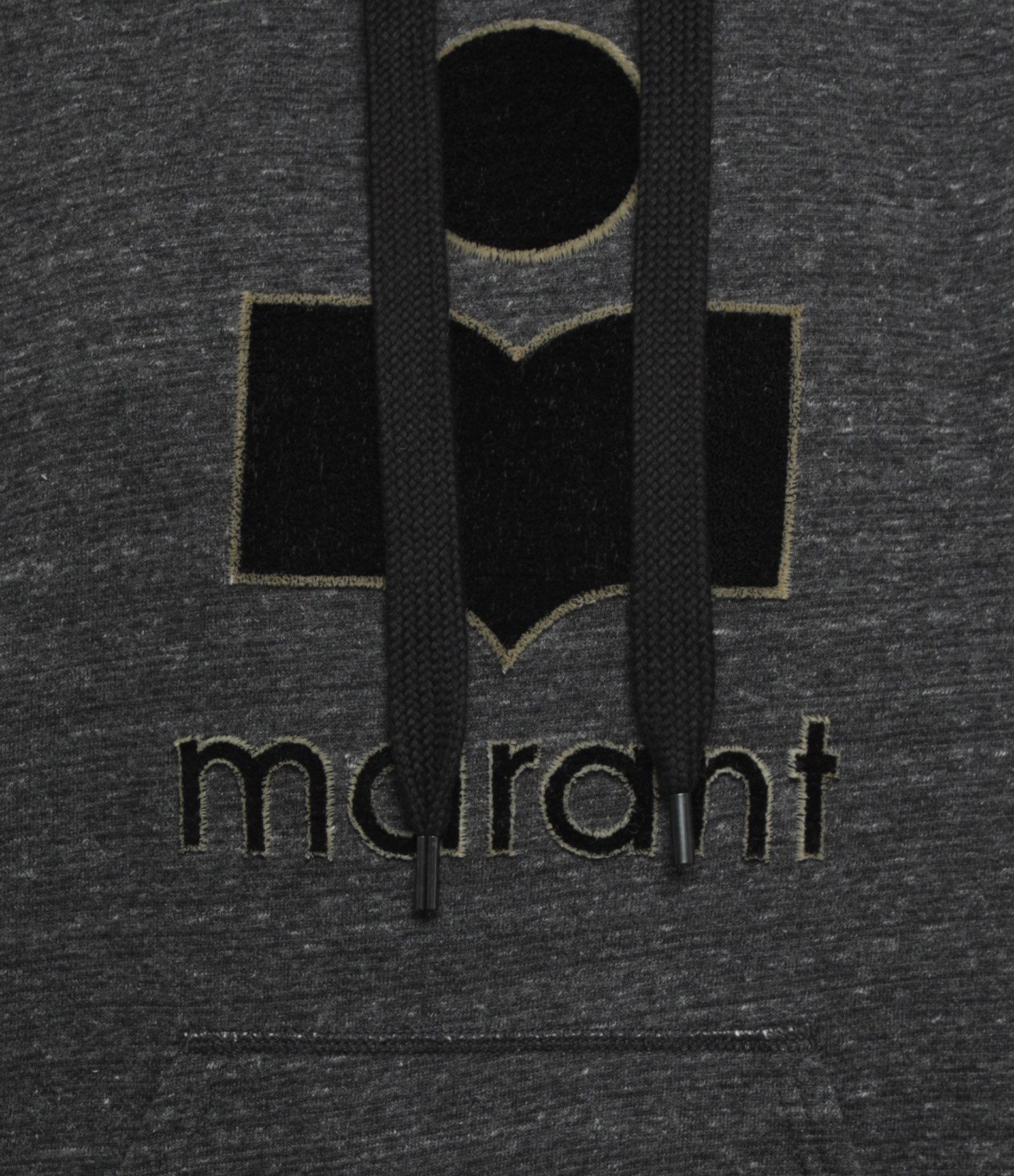 ISABEL MARANT ÉTOILE - Sweatshirt Mansel Coton Anthracite