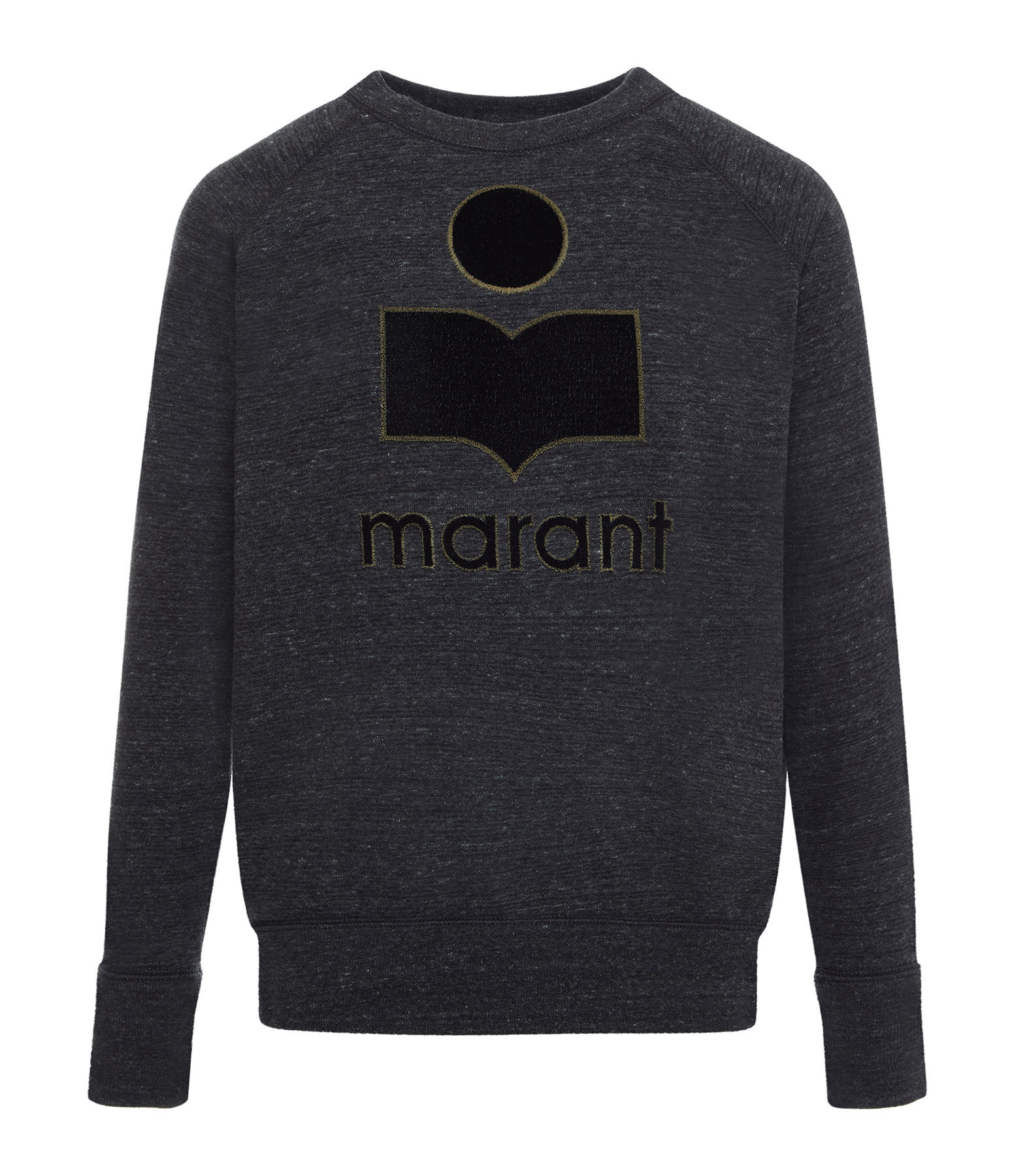 ISABEL MARANT ÉTOILE - Sweatshirt Milly Coton Anthracite