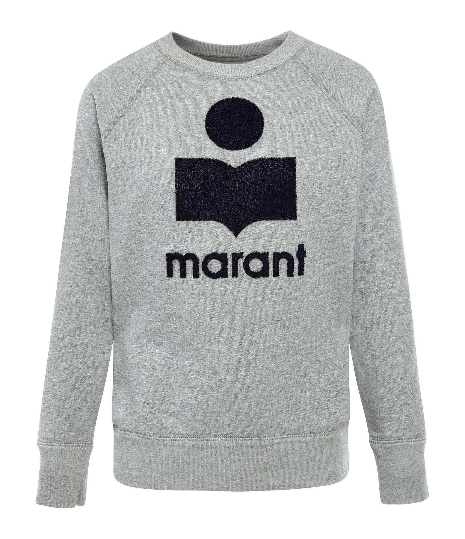 ISABEL MARANT ÉTOILE - Sweatshirt Milly Coton Gris
