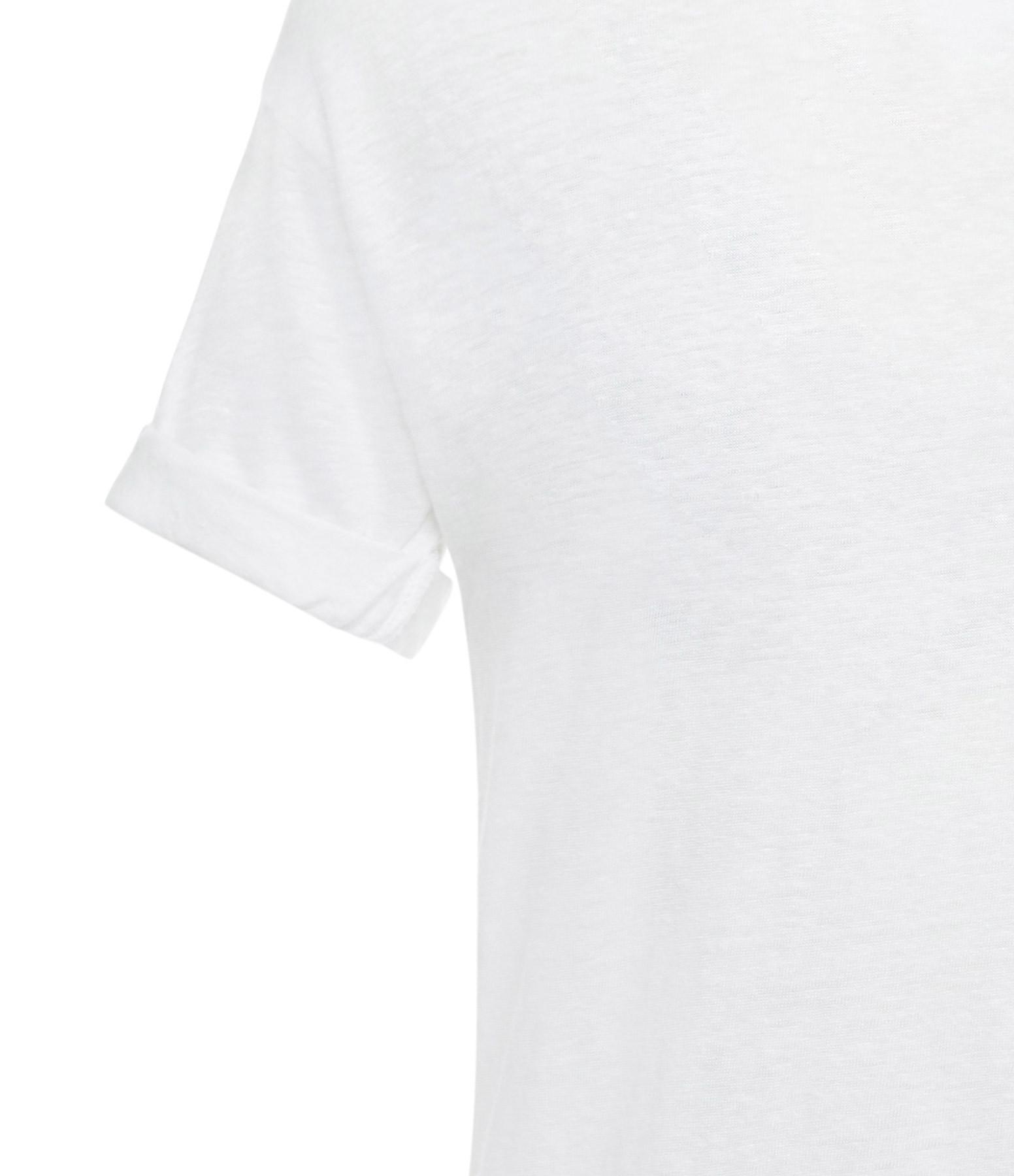 ISABEL MARANT ÉTOILE - Tee-shirt Koldi Lin Blanc