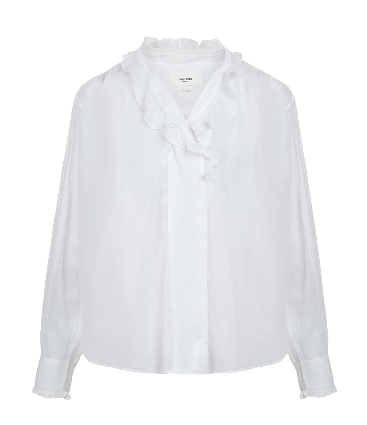 ISABEL MARANT ÉTOILE - Blouse Pamias Coton Blanc