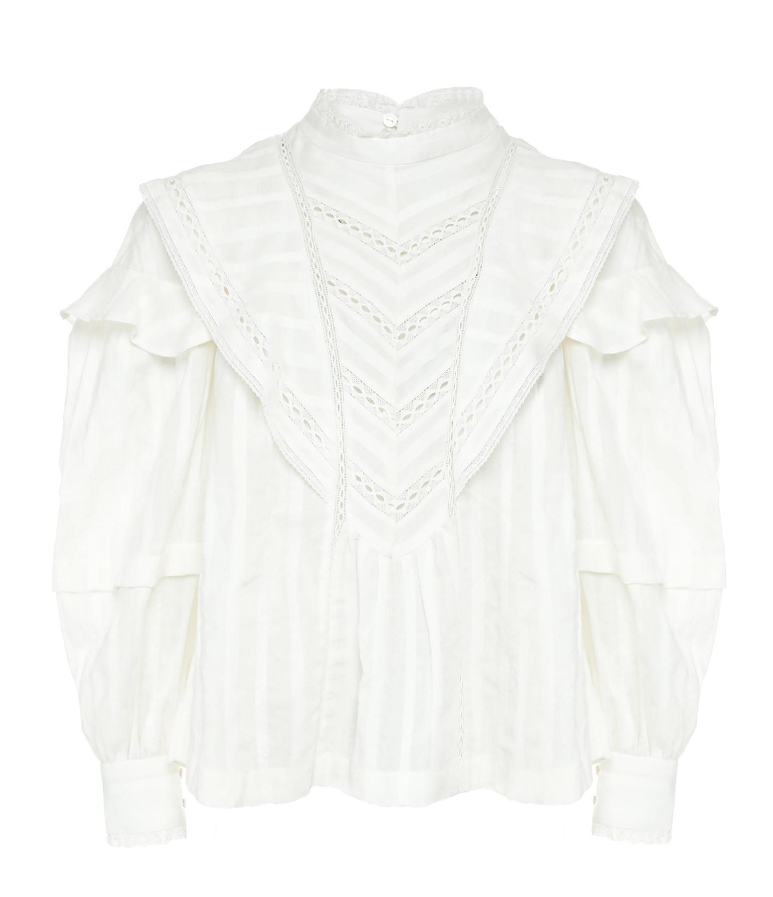 ISABEL MARANT ÉTOILE - Top Reign Coton Blanc
