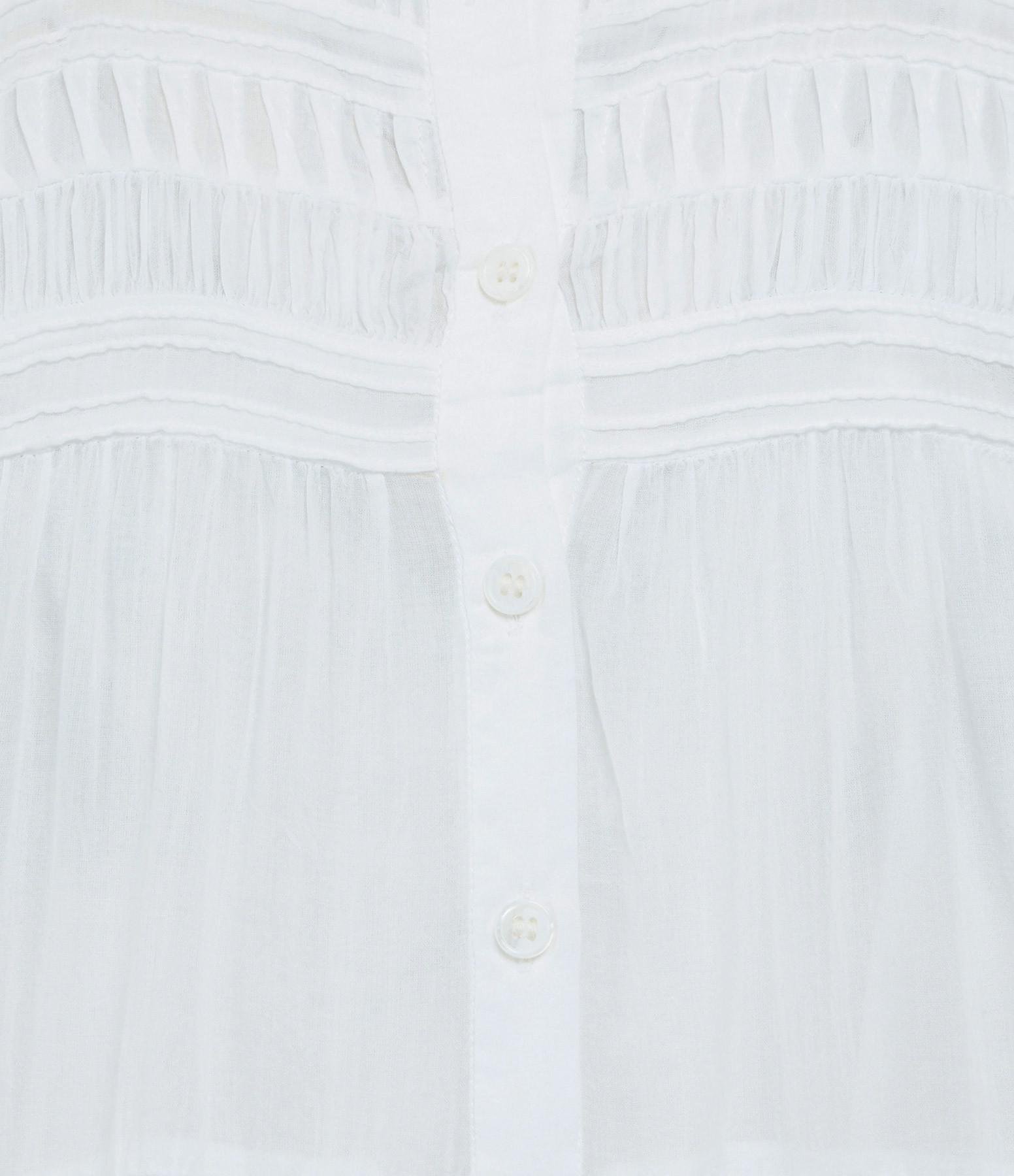 ISABEL MARANT ÉTOILE - Robe Lanikaye Coton Blanc