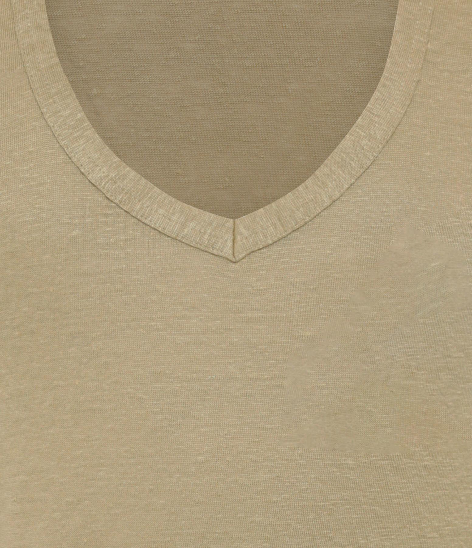 ISABEL MARANT ÉTOILE - Tee-shirt Zankou Lin Kaki