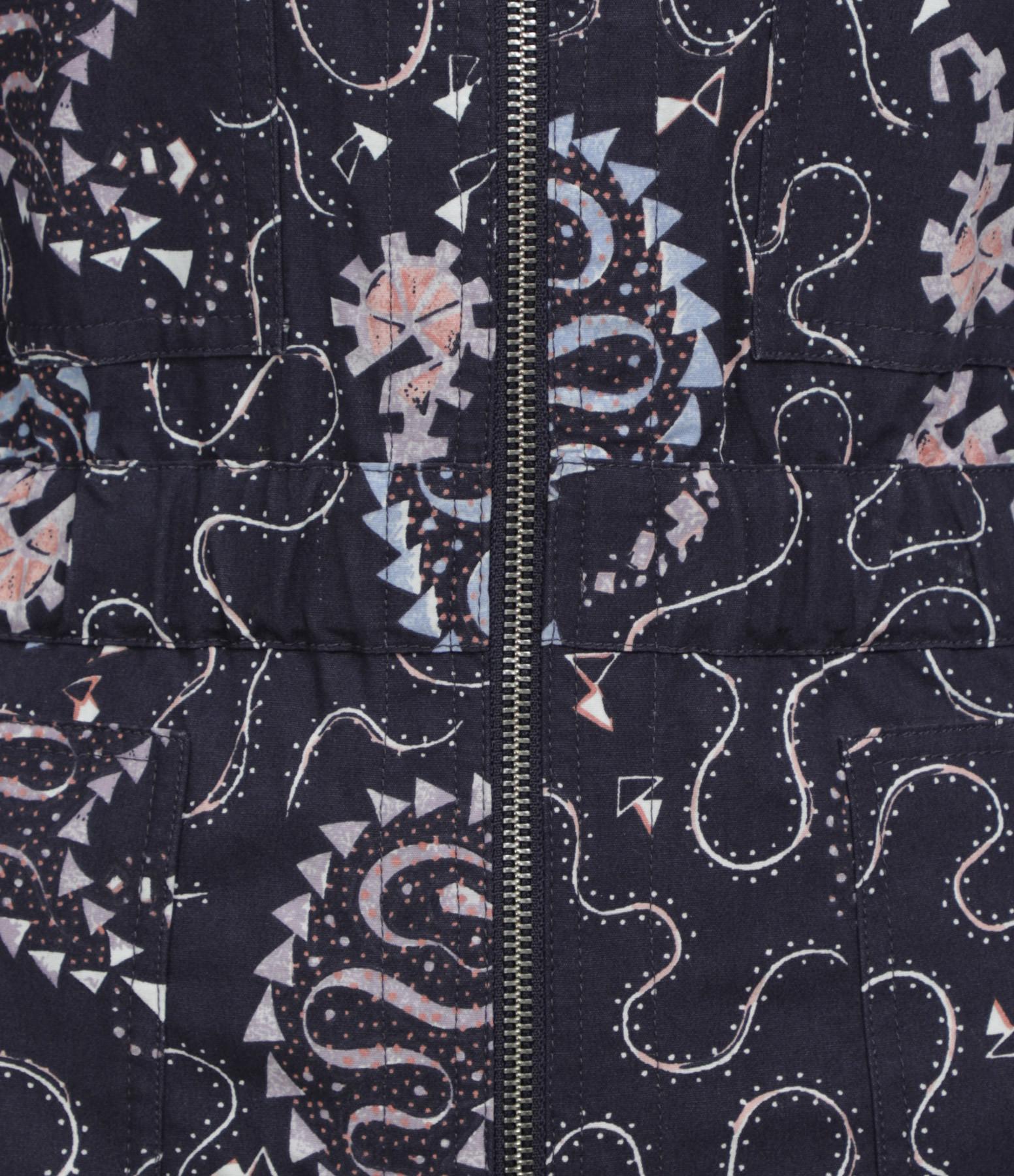 ISABEL MARANT ÉTOILE - Combinaison Nilaney Coton Bleu Nuit