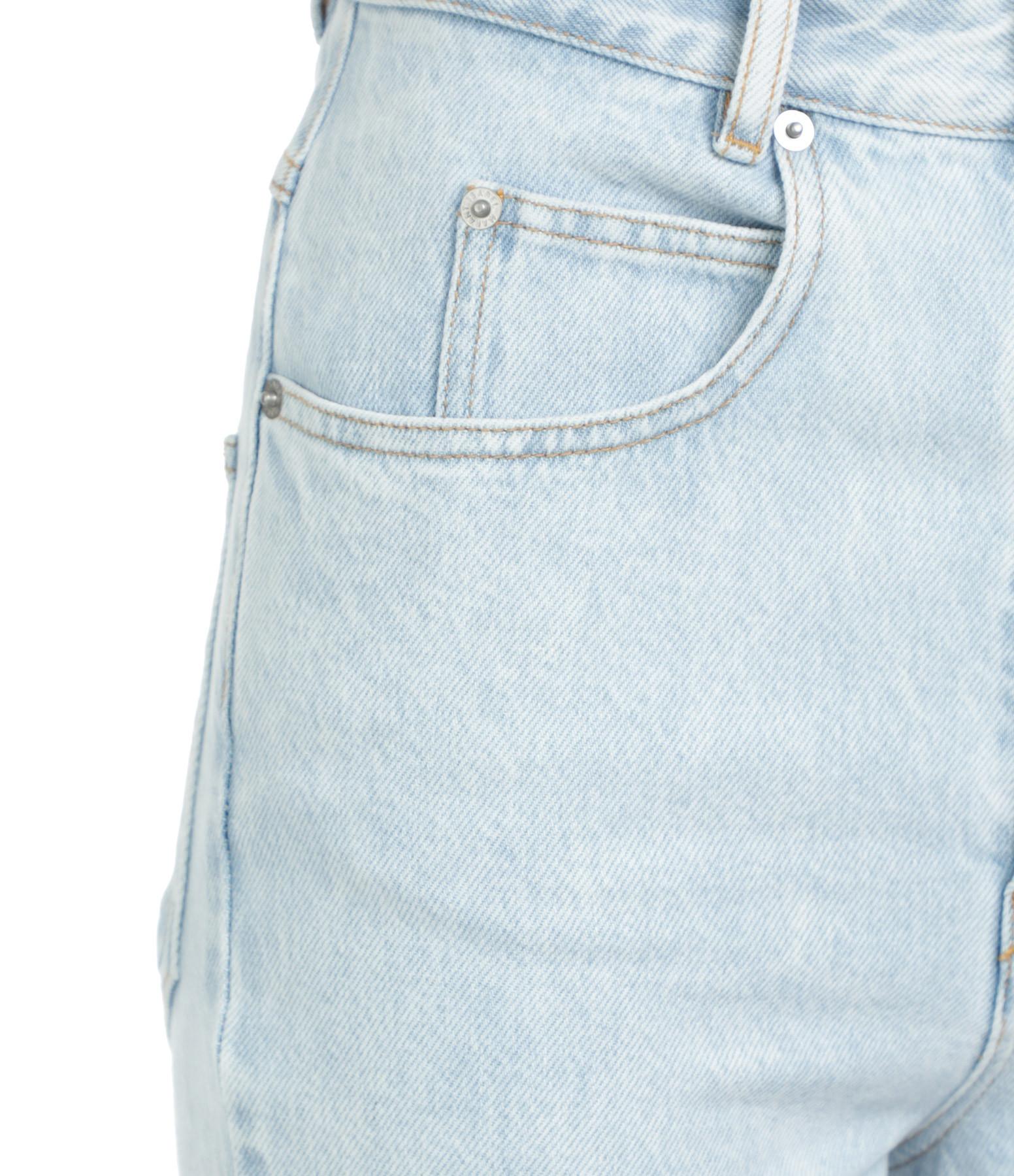 ISABEL MARANT ÉTOILE - Pantalon Laliskasr Coton Bleu Clair