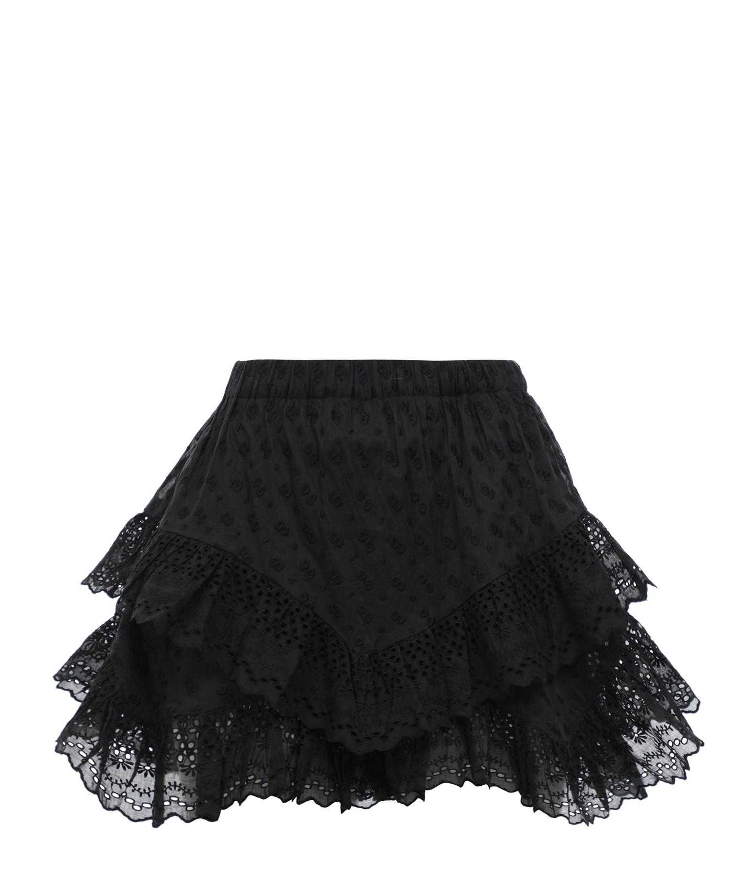 ISABEL MARANT ÉTOILE - Short Teocadia Coton Noir