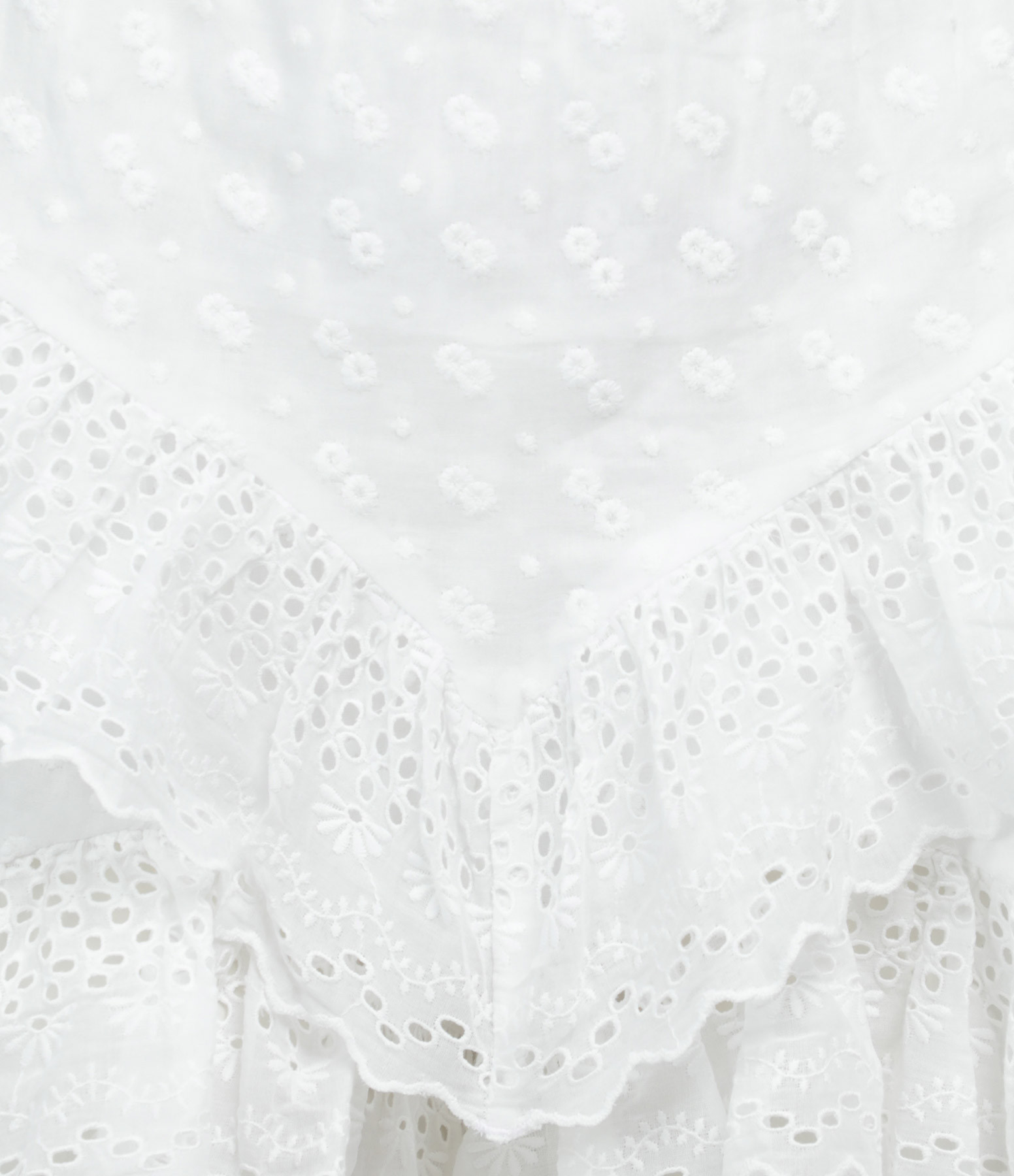 ISABEL MARANT ÉTOILE - Short Teocadia Coton Blanc
