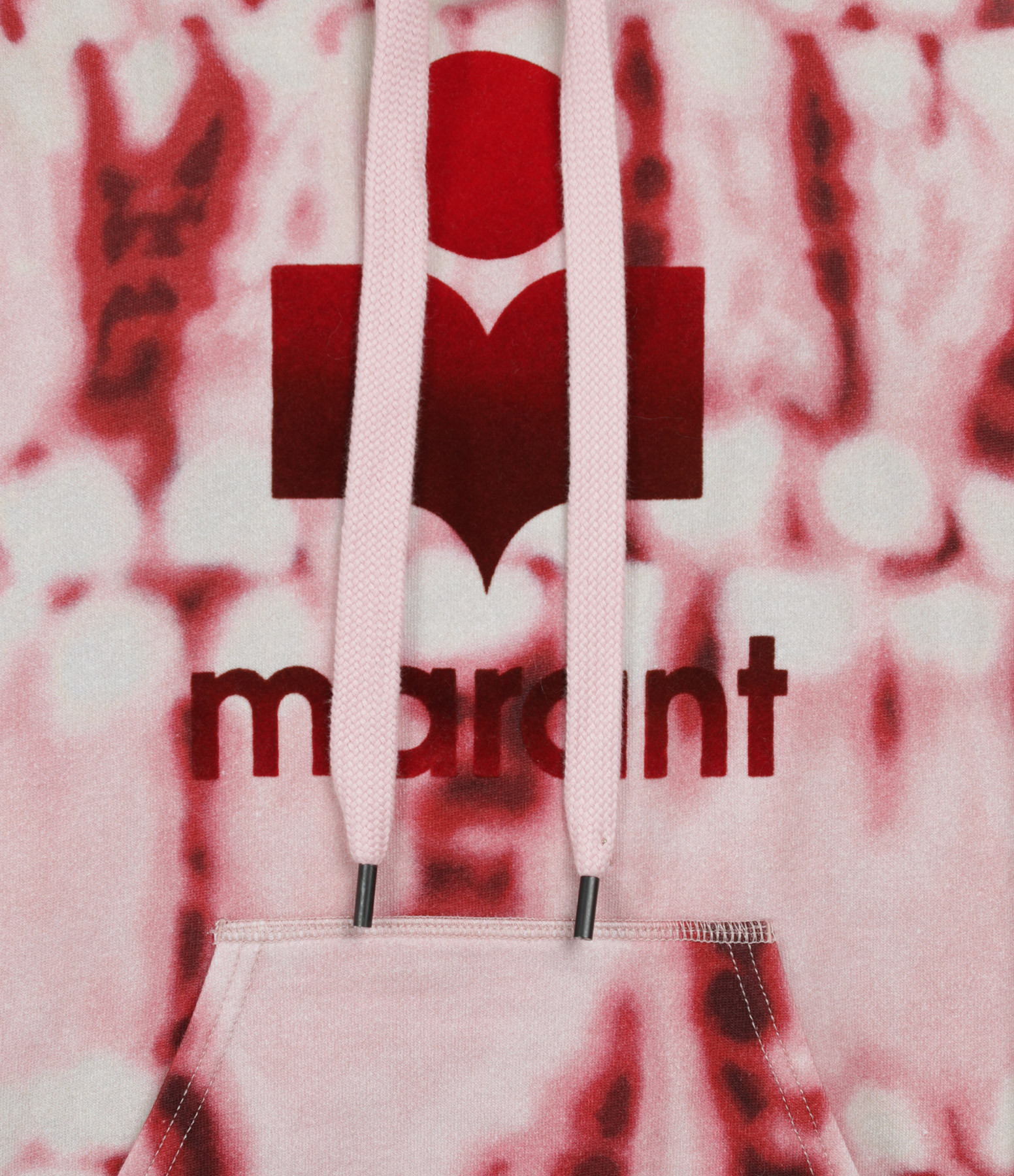 ISABEL MARANT ÉTOILE - Sweatshirt Mansel Coton Rouge