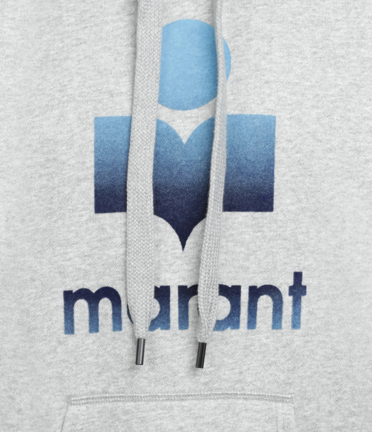 ISABEL MARANT ÉTOILE - Sweatshirt Mansel Coton Gris