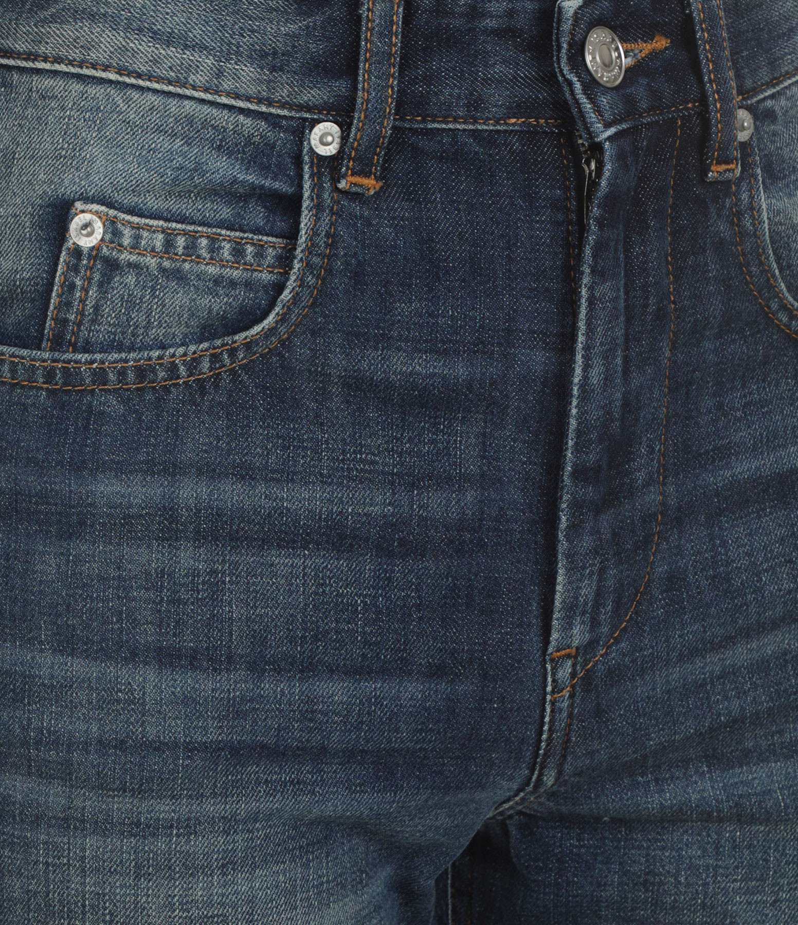 ISABEL MARANT ÉTOILE - Pantalon Belvira Coton Bleu