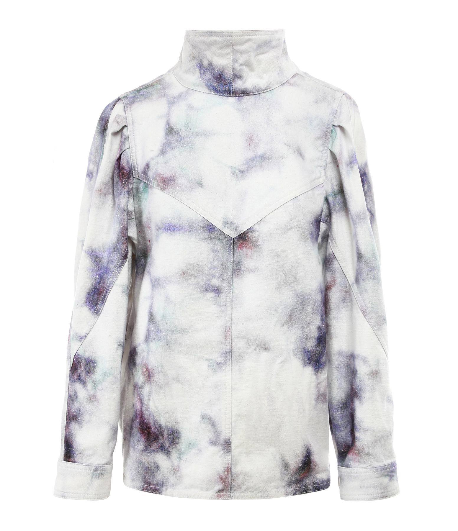 ISABEL MARANT - Blouse Espera Coton Bleu