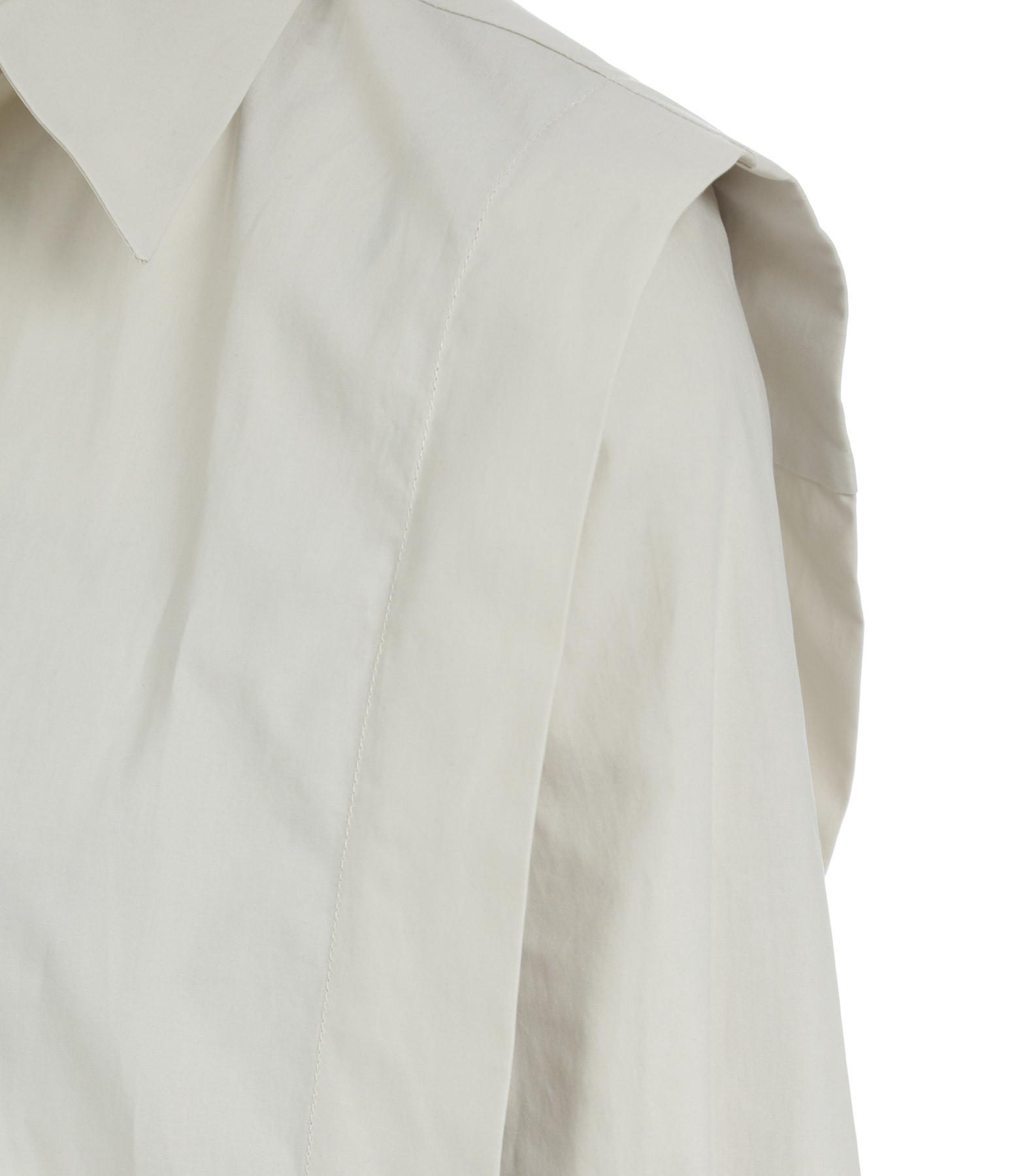 ISABEL MARANT - Chemise Kigalki Coton Craie