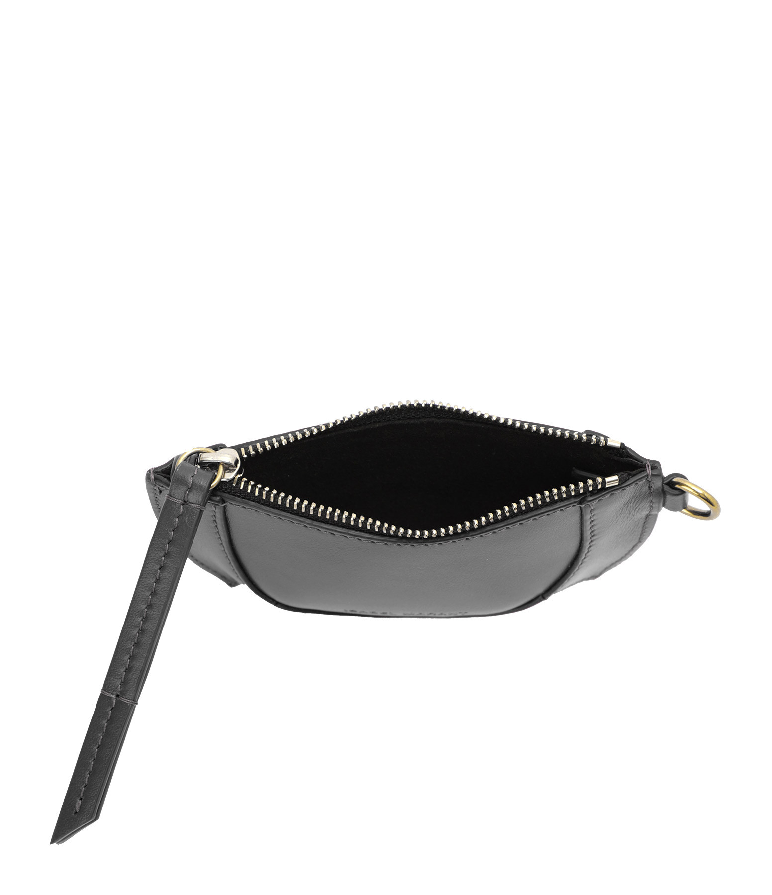ISABEL MARANT - Pochette Soko Cuir Noir