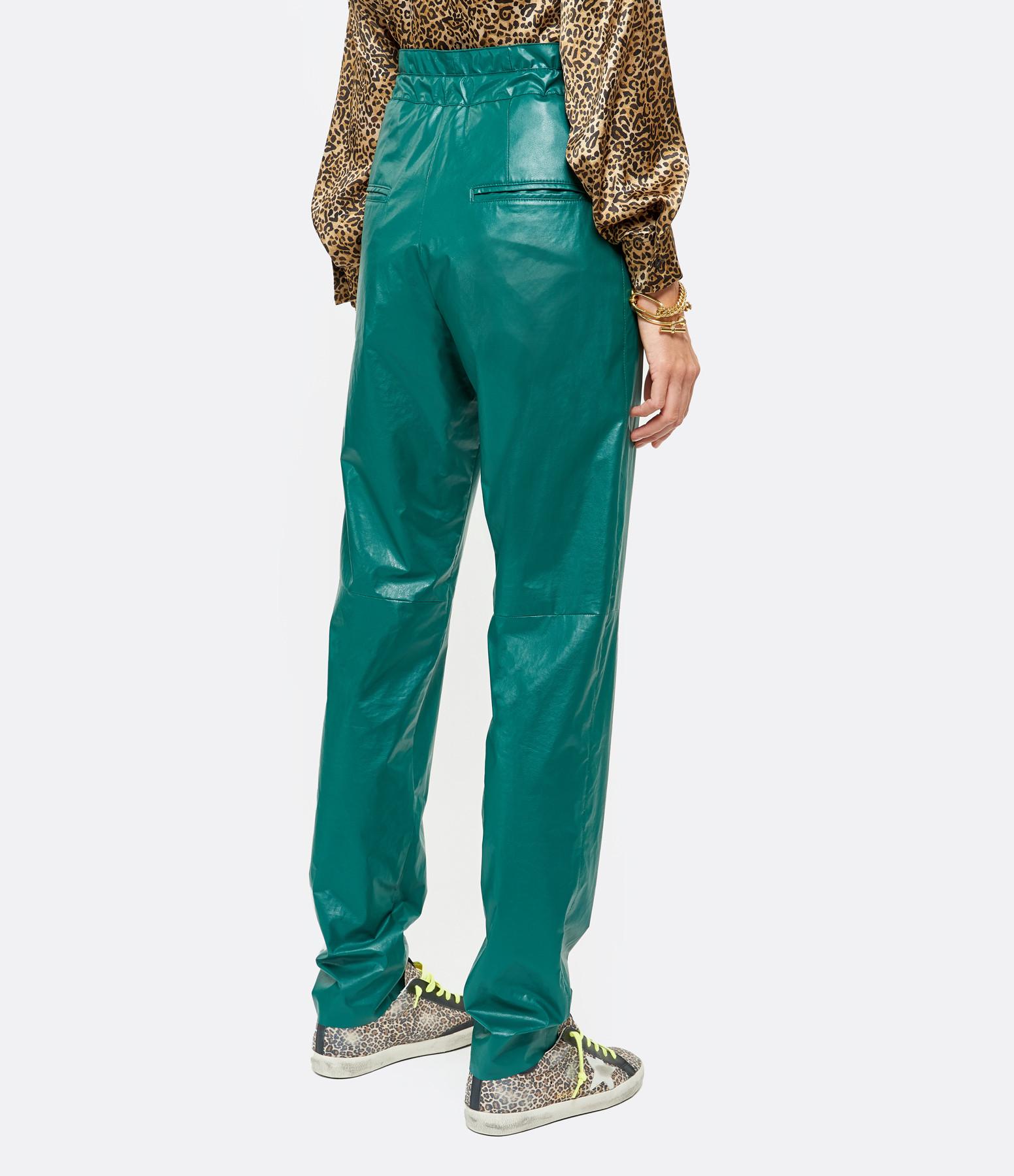 ISABEL MARANT - Pantalon Duard Vert Émeraude