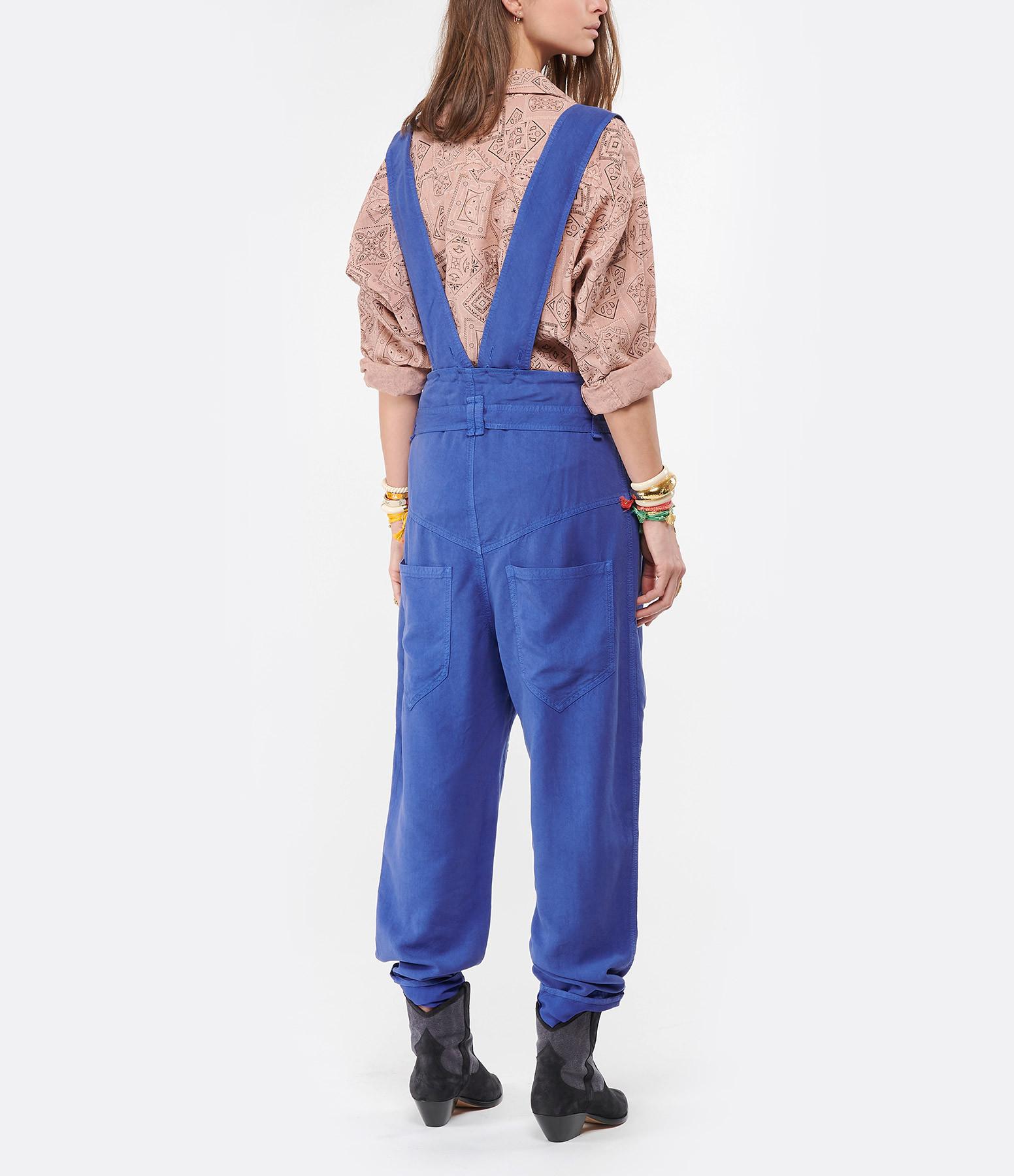ISABEL MARANT - Pantalon Fineba Bleu Électrique