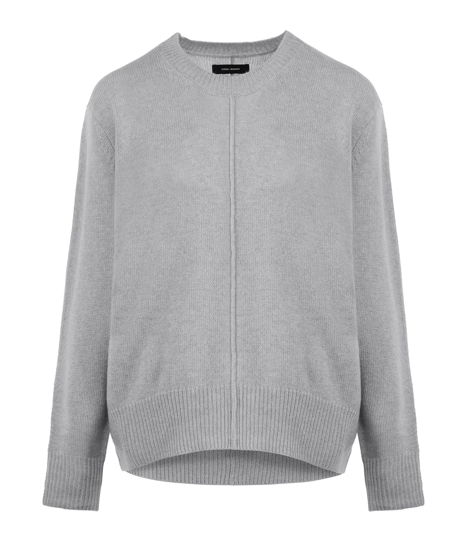 ISABEL MARANT - Pull Dave Soie Gris