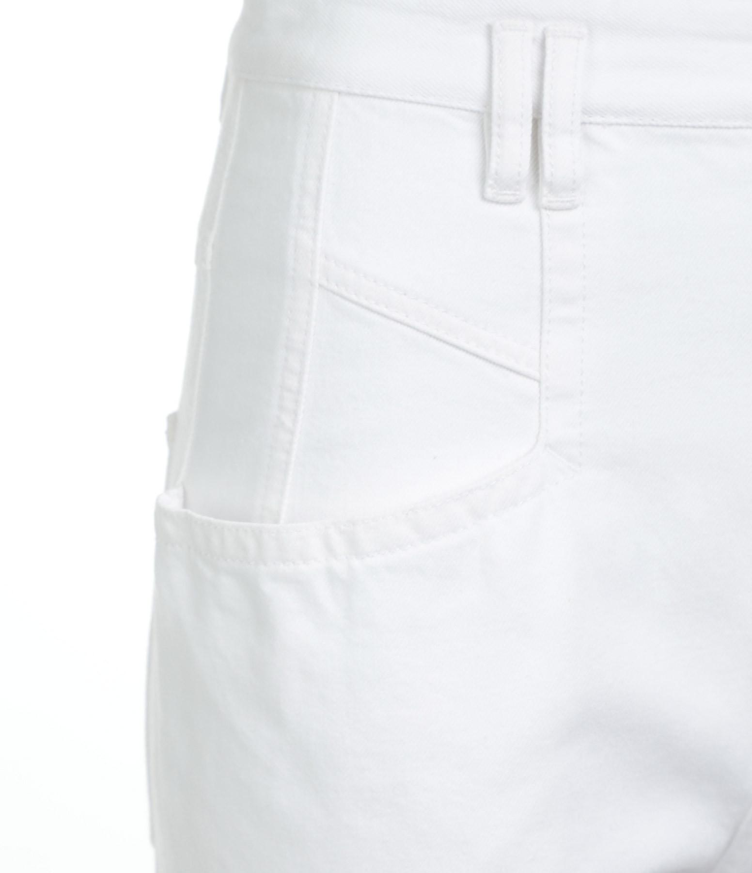 ISABEL MARANT - Pantalon Padeloisasr Denim Blanc