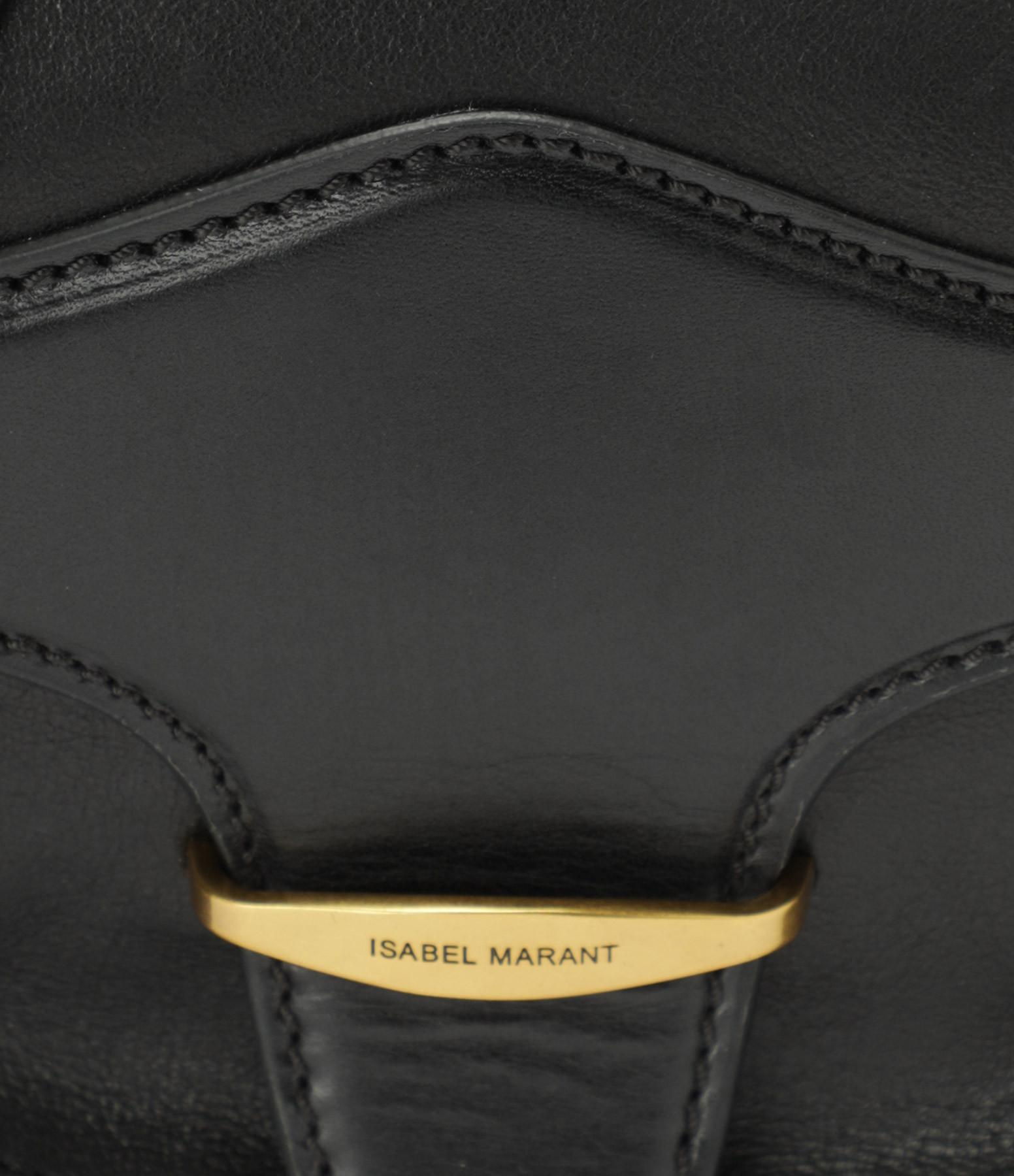 ISABEL MARANT - Sac Botsy Cuir Noir