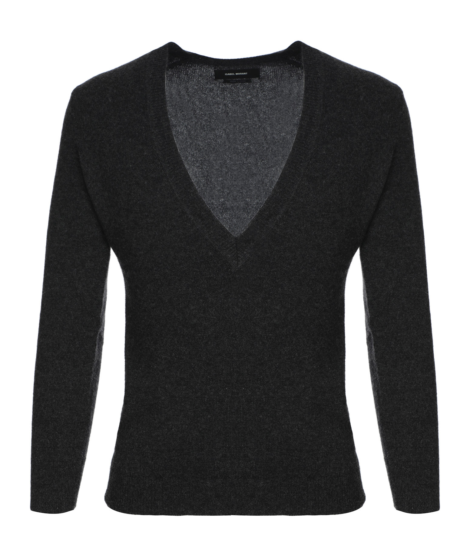 ISABEL MARANT - Pull Agnès Cachemire Anthracite