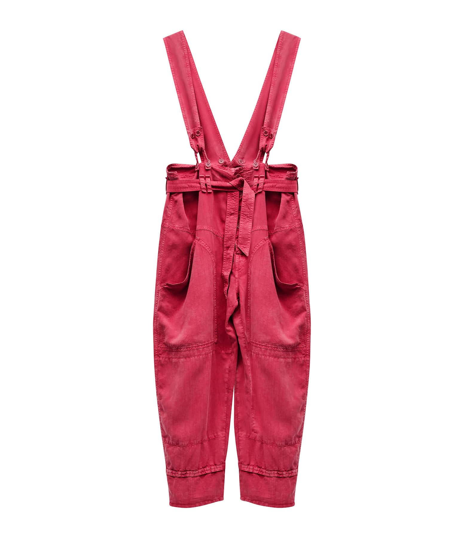 ISABEL MARANT - Pantalon Fineba Framboise