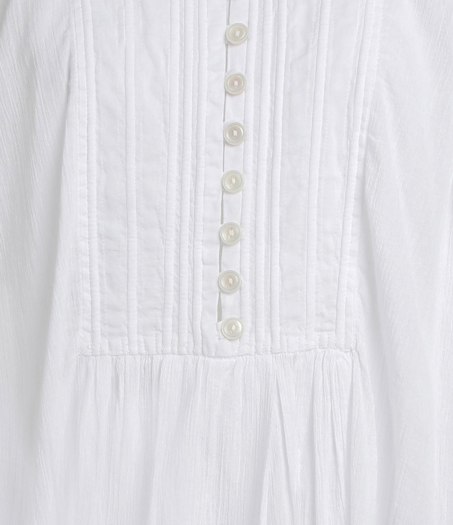 ISABEL MARANT - Robe Yacolt Coton Blanc