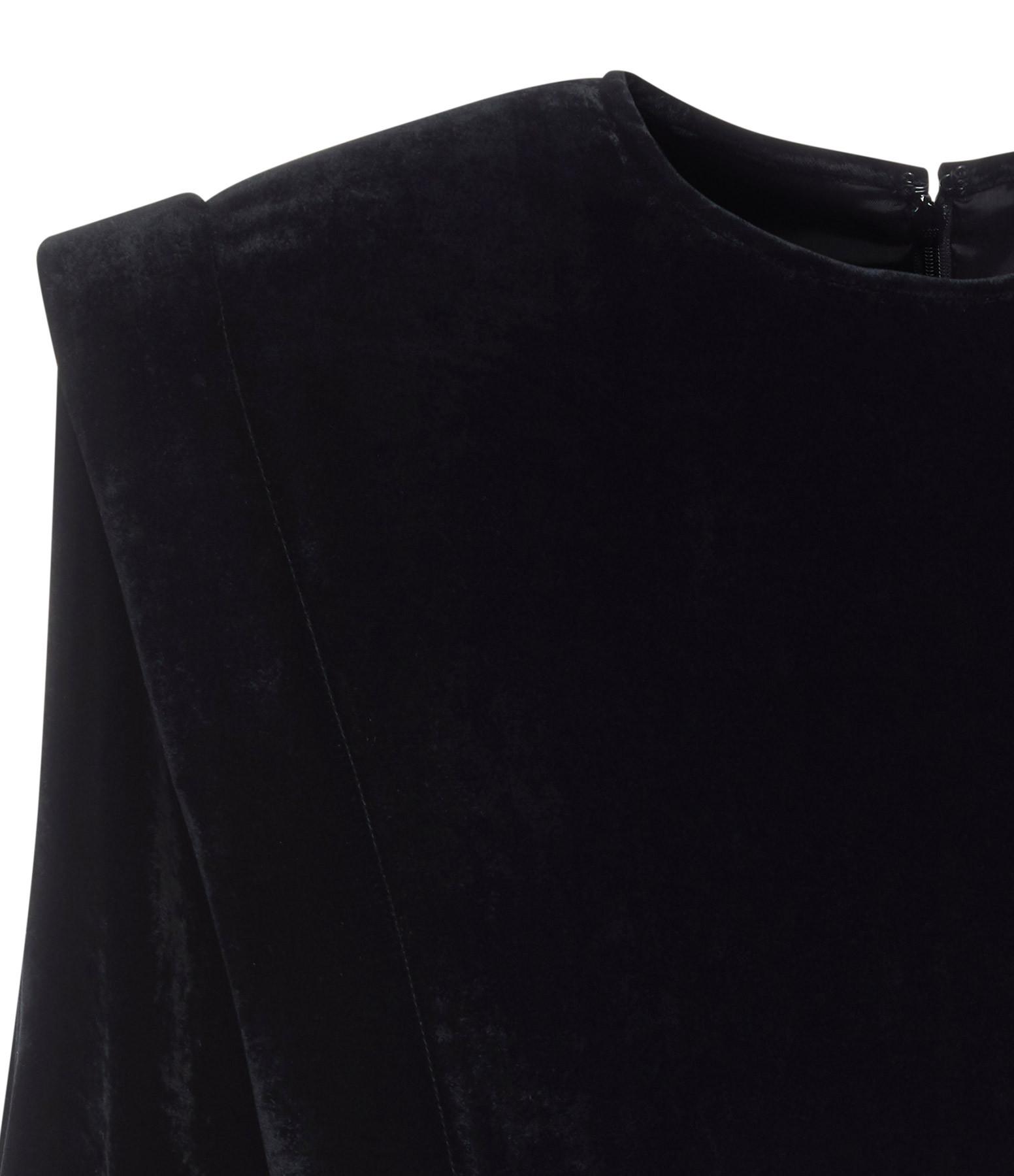 ISABEL MARANT - Robe Gabalia Soie Noir