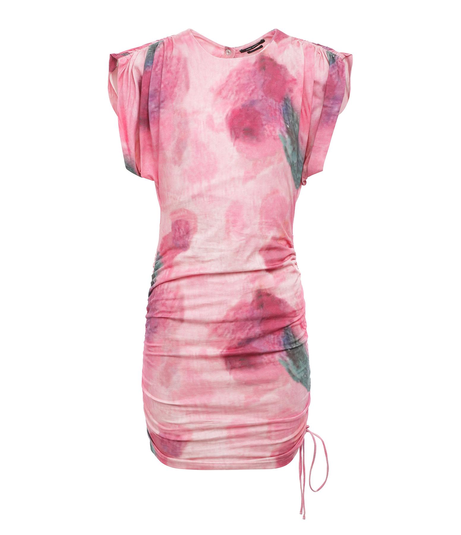 ISABEL MARANT - Robe Sitian Coton Rose
