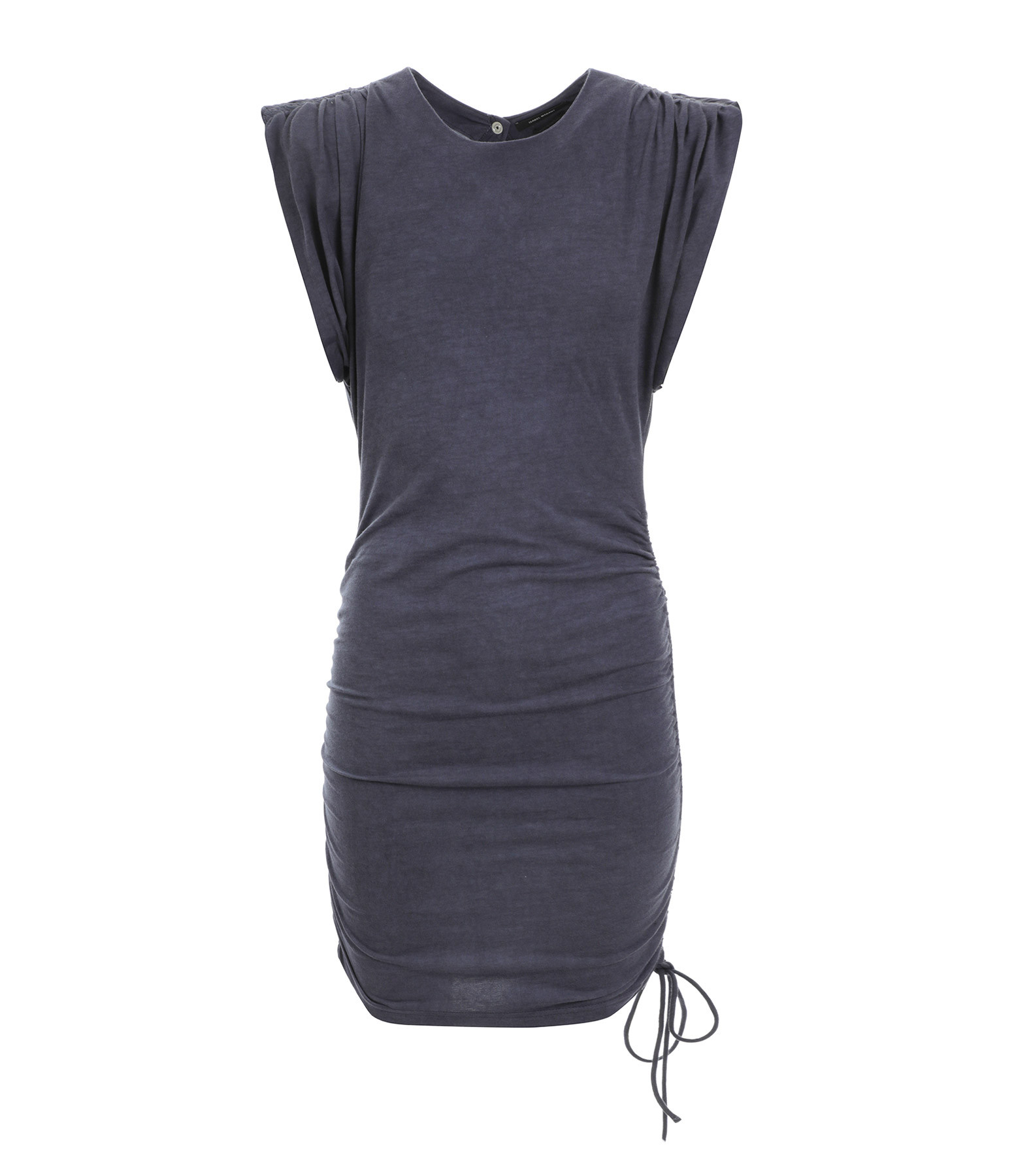 ISABEL MARANT - Robe Sitian Coton Bleu Nuit